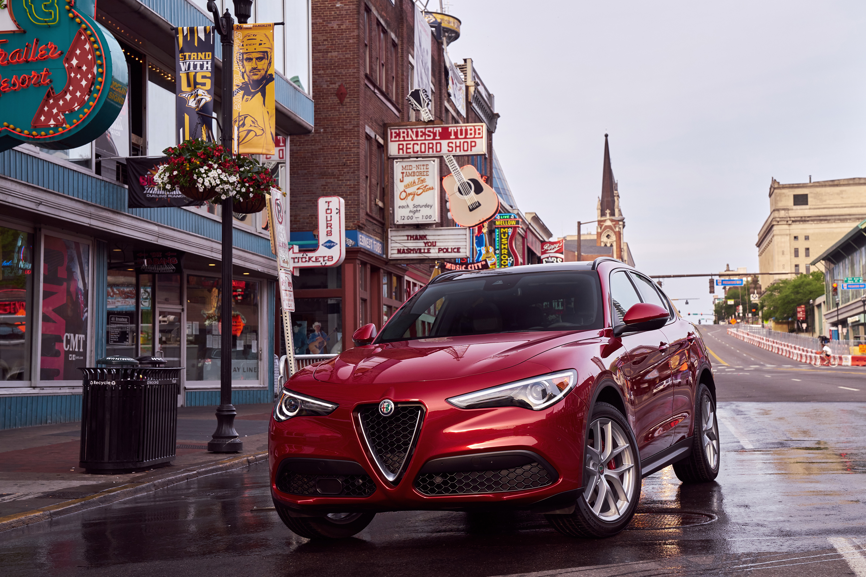 2018 Alfa Romeo Stelvio downtown Nashville