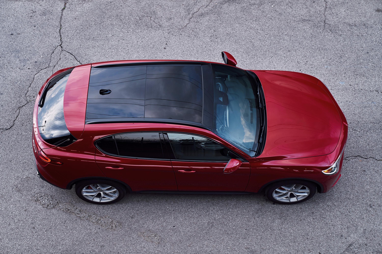 2018 Alfa Romeo Stelvio from above