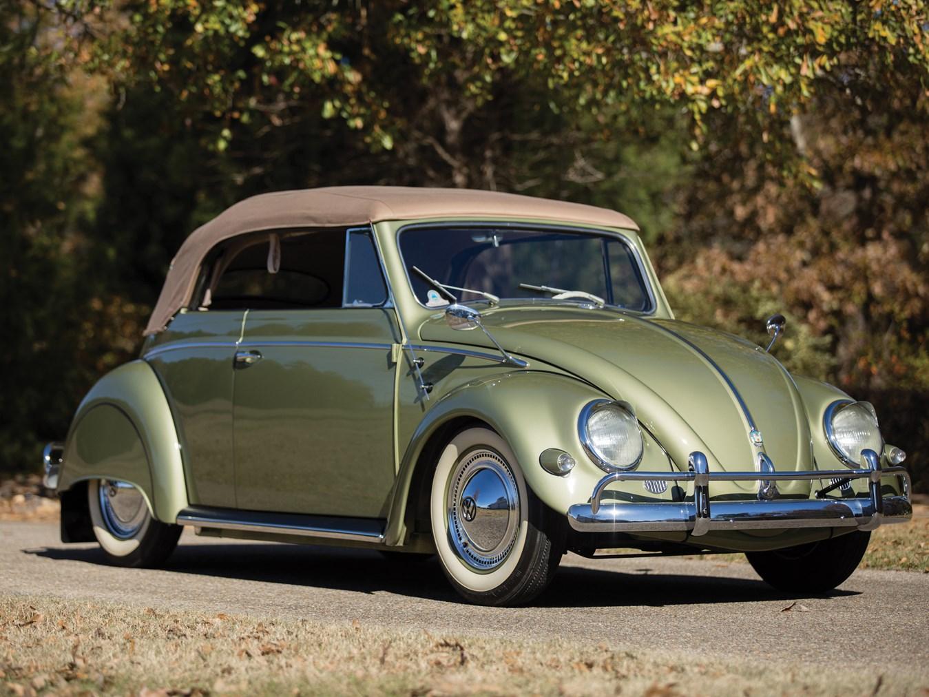 1956 Volkswagen Beetle Convertible