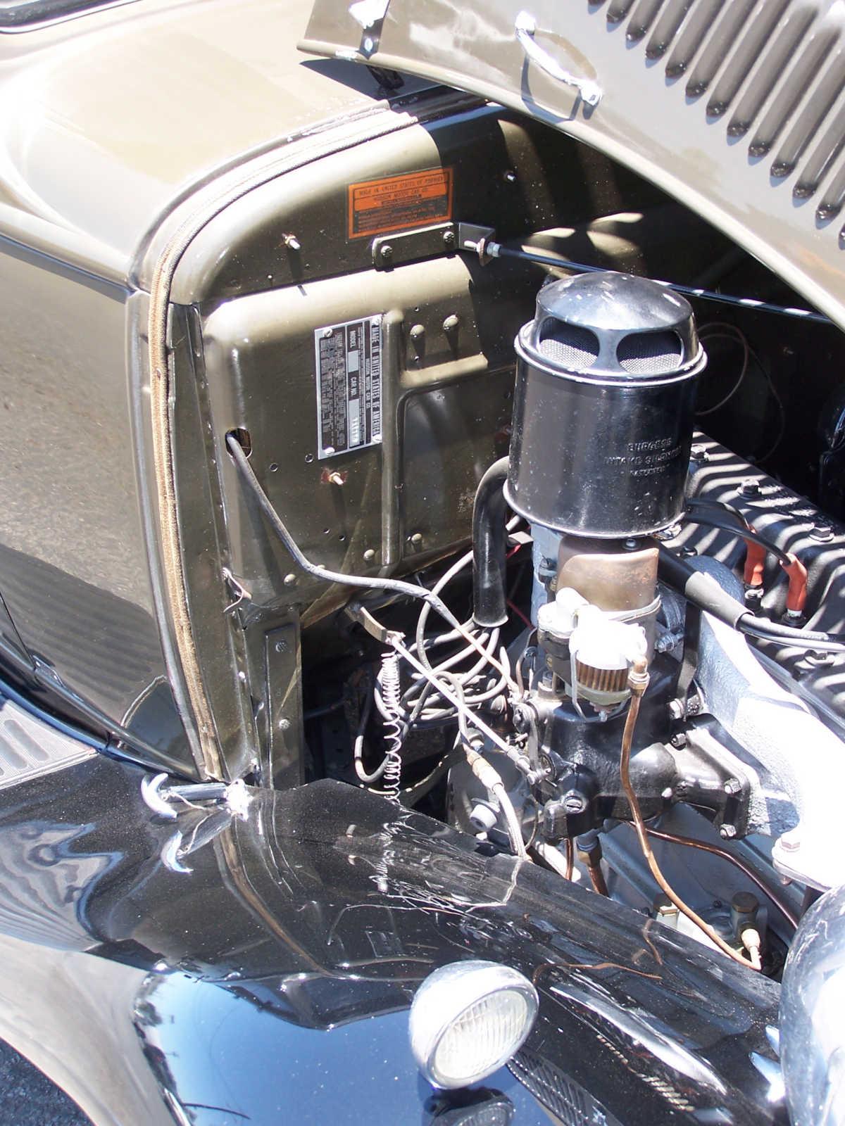 1932 Hudson Essex Terraplane engine