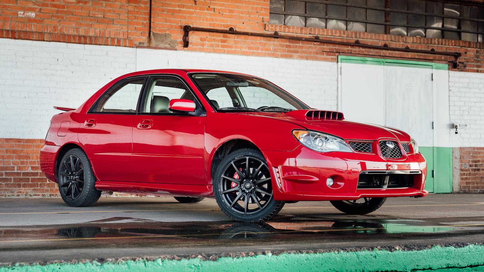 You can own Baby Driver's red Subaru WRX getaway car thumbnail
