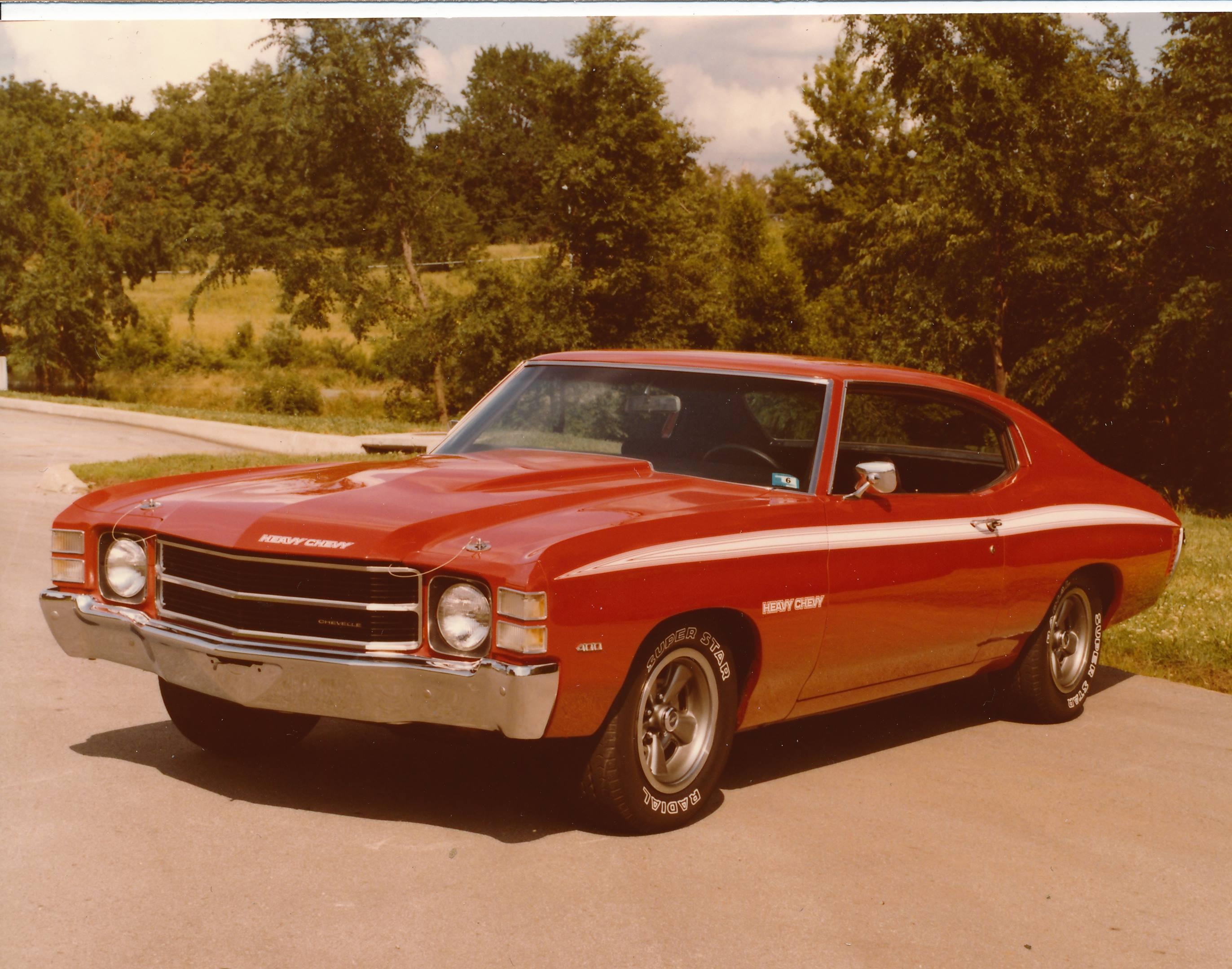 1971 Chevrolet Chevelle Heavy Chevy