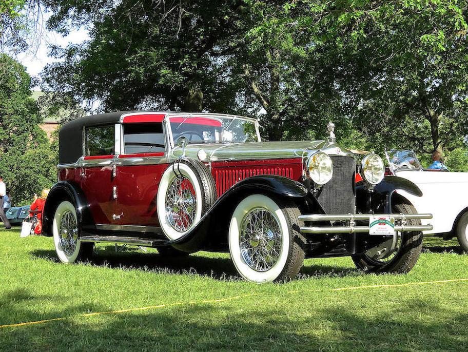1928 Minerva Model AK Town Car