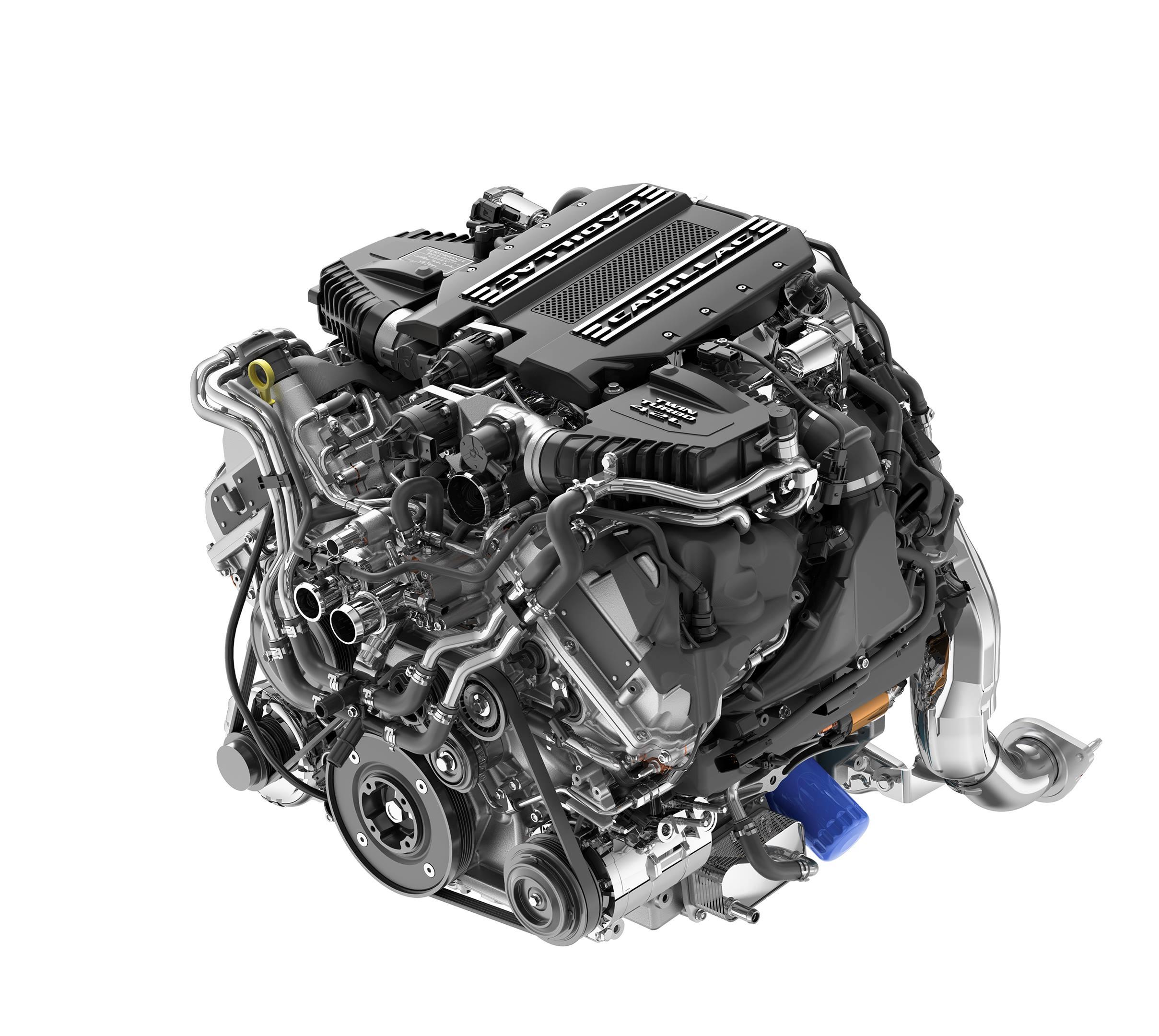 Cadillac 4.2L twin-turbo V-8
