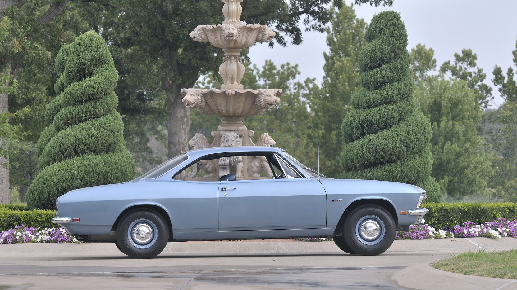 1969 Chevrolet Corvair 500 coupe profile