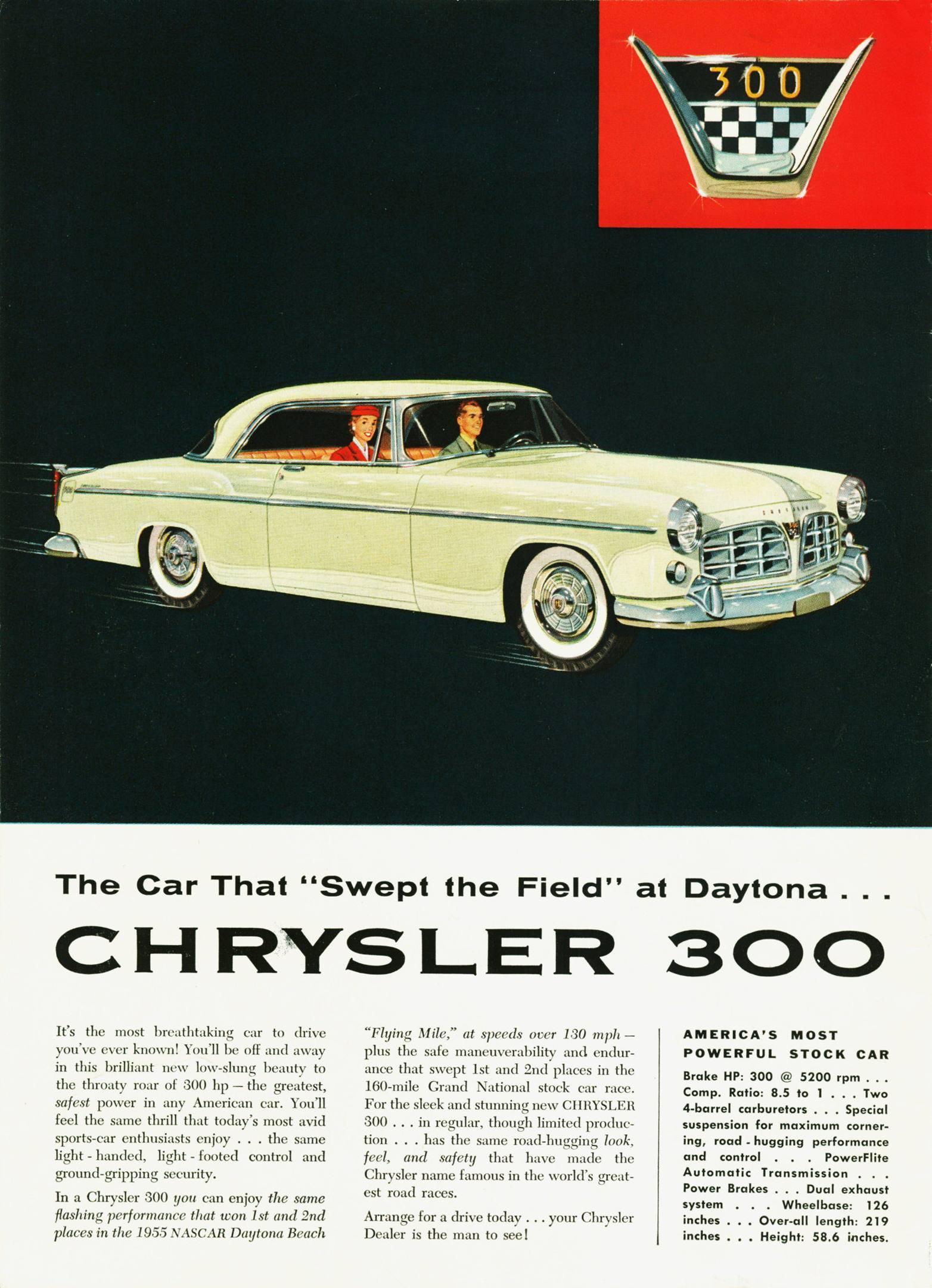 Chrysler 300 ad
