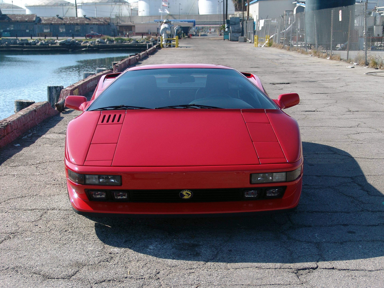 red Cizeta-Moroder V16T front