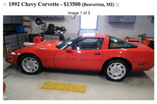 Craigslist Chevy Corvette