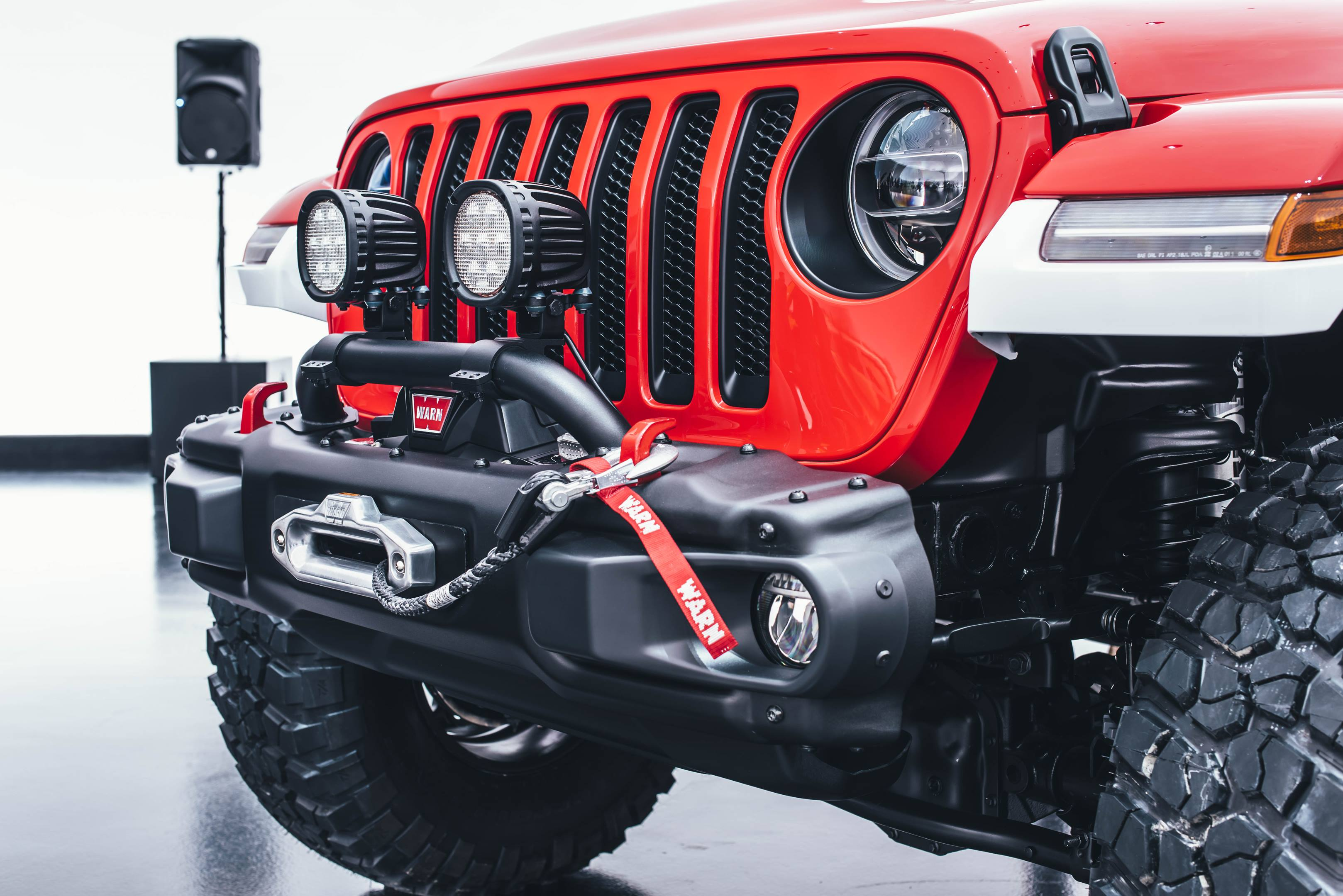 2018 Jeep Jeepster Concept front