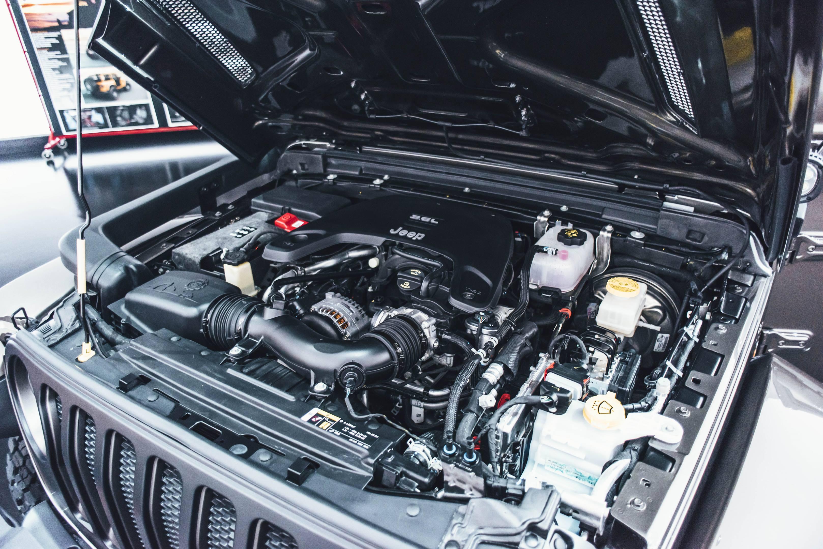 2018 Jeep JWagon Concept engine