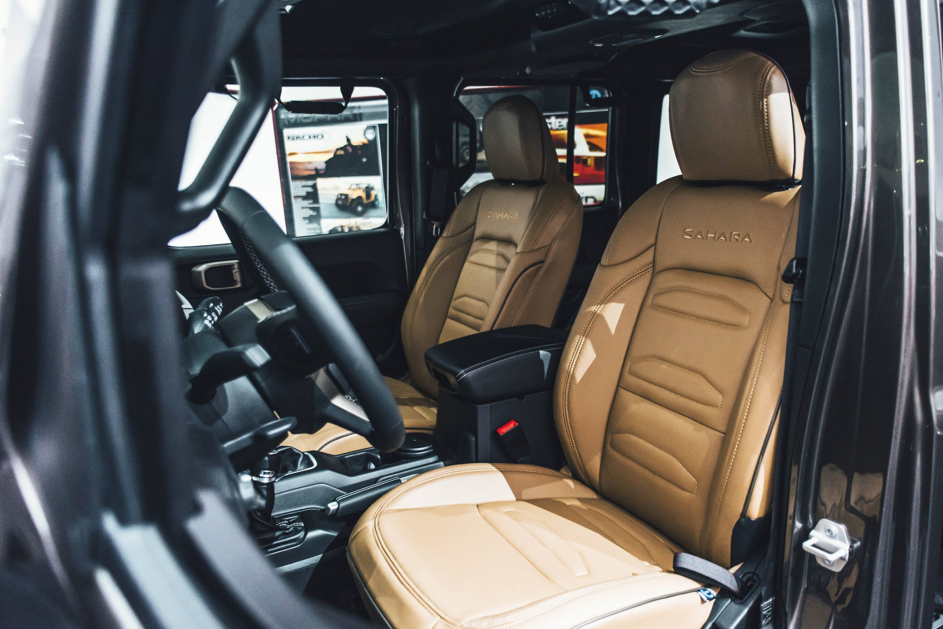 2018 Jeep JWagon Concept interior