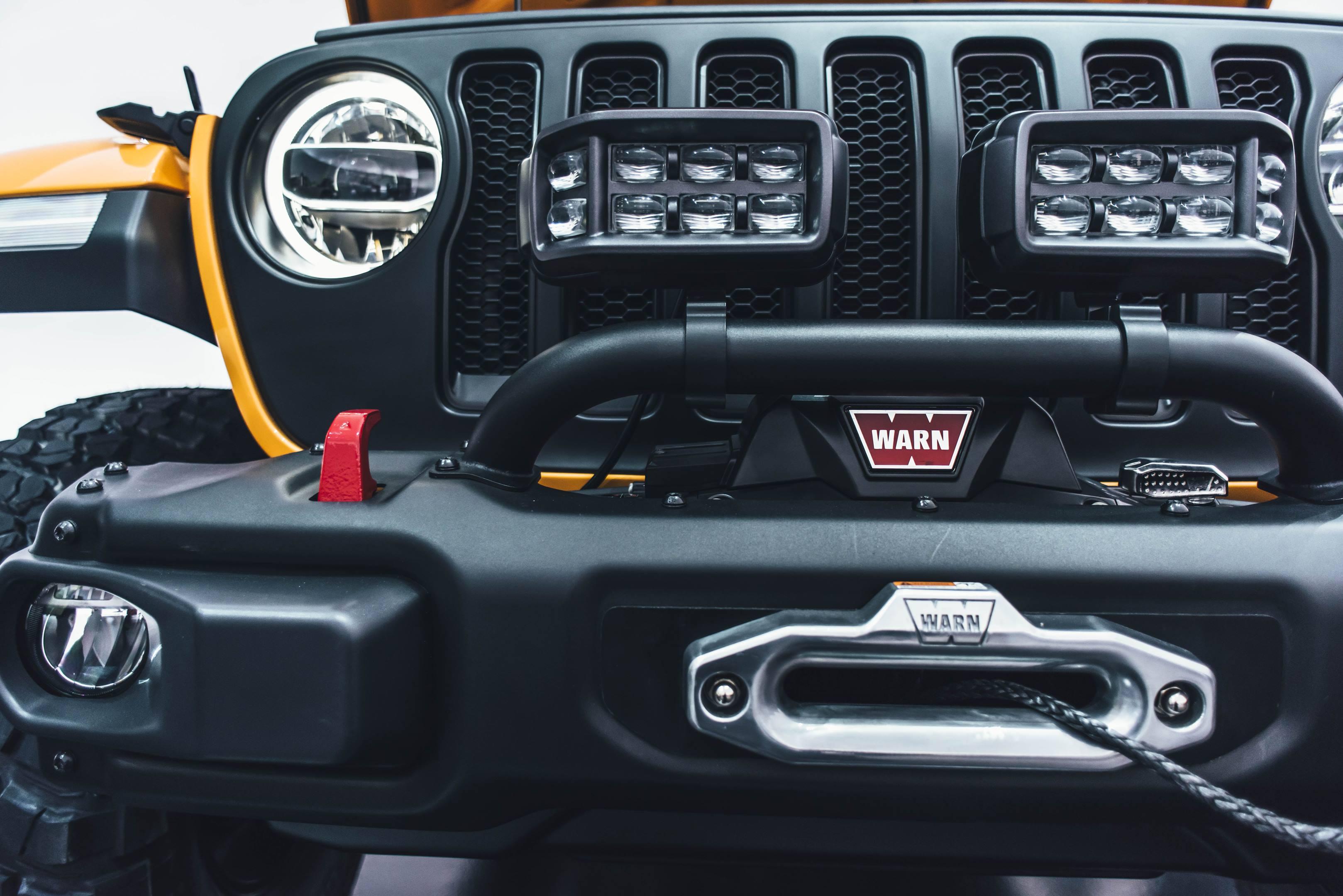 2018 Jeep Nacho Concept grille