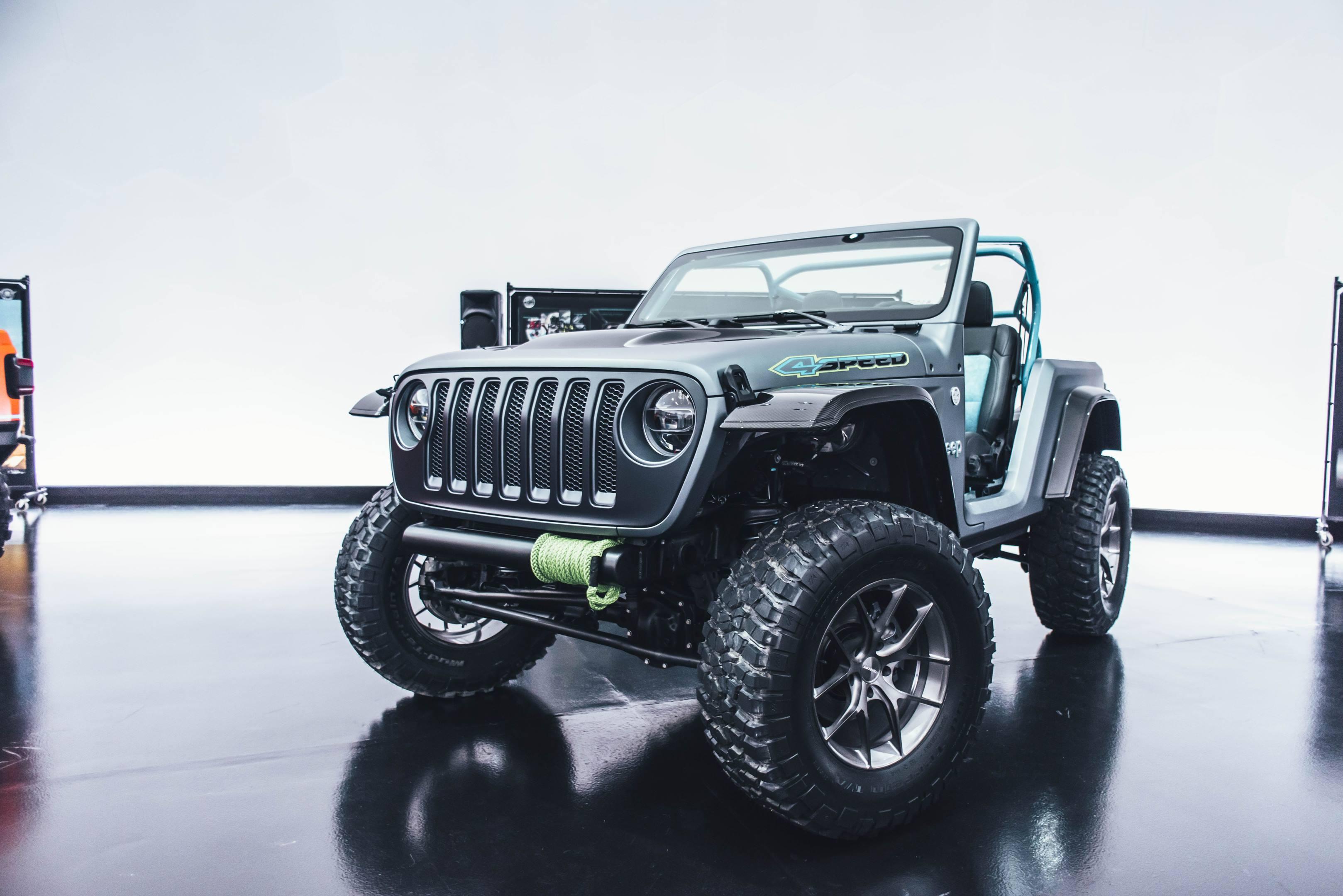 2018 Jeep 4Speed Concept