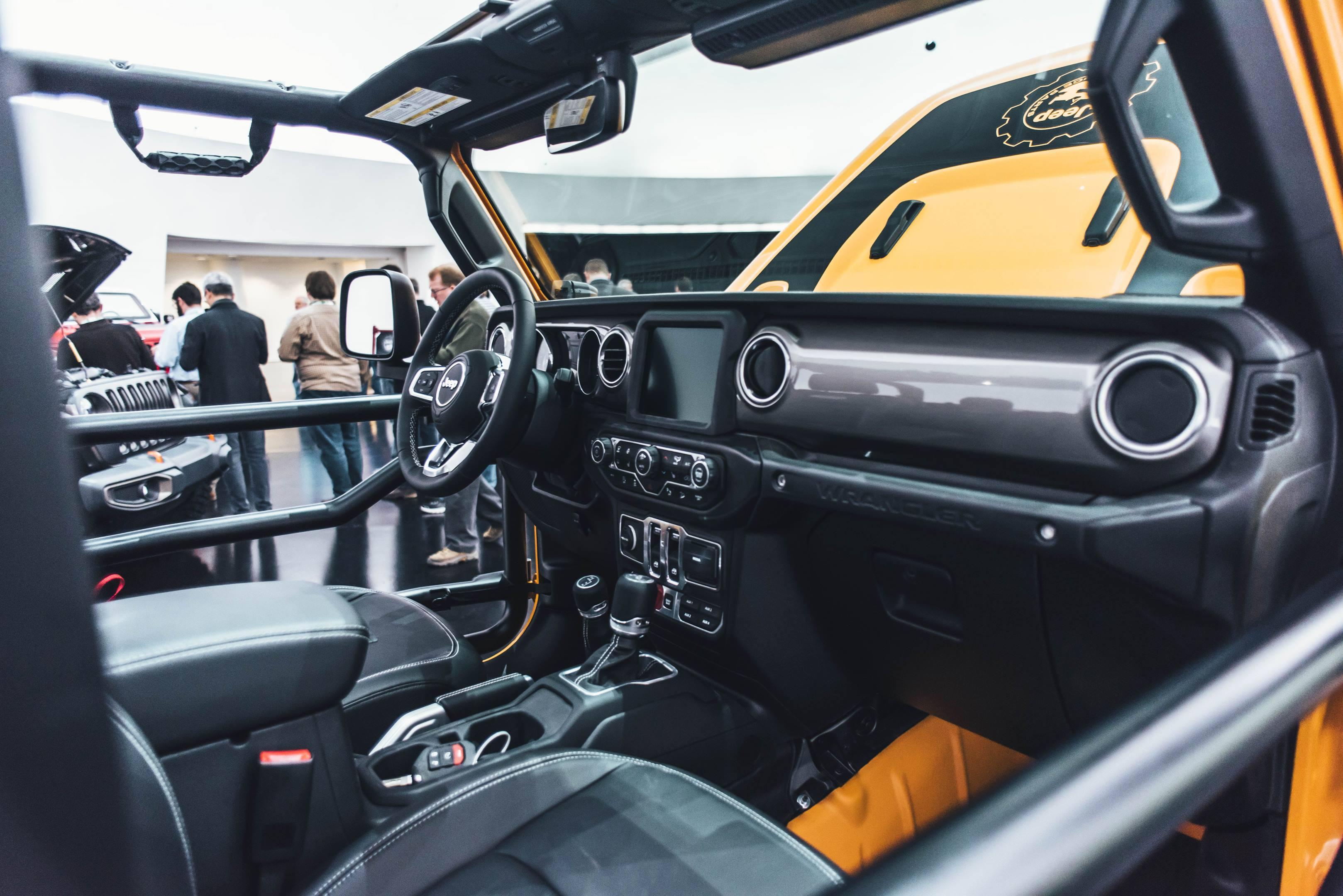 2018 Jeep Nacho Concept interior