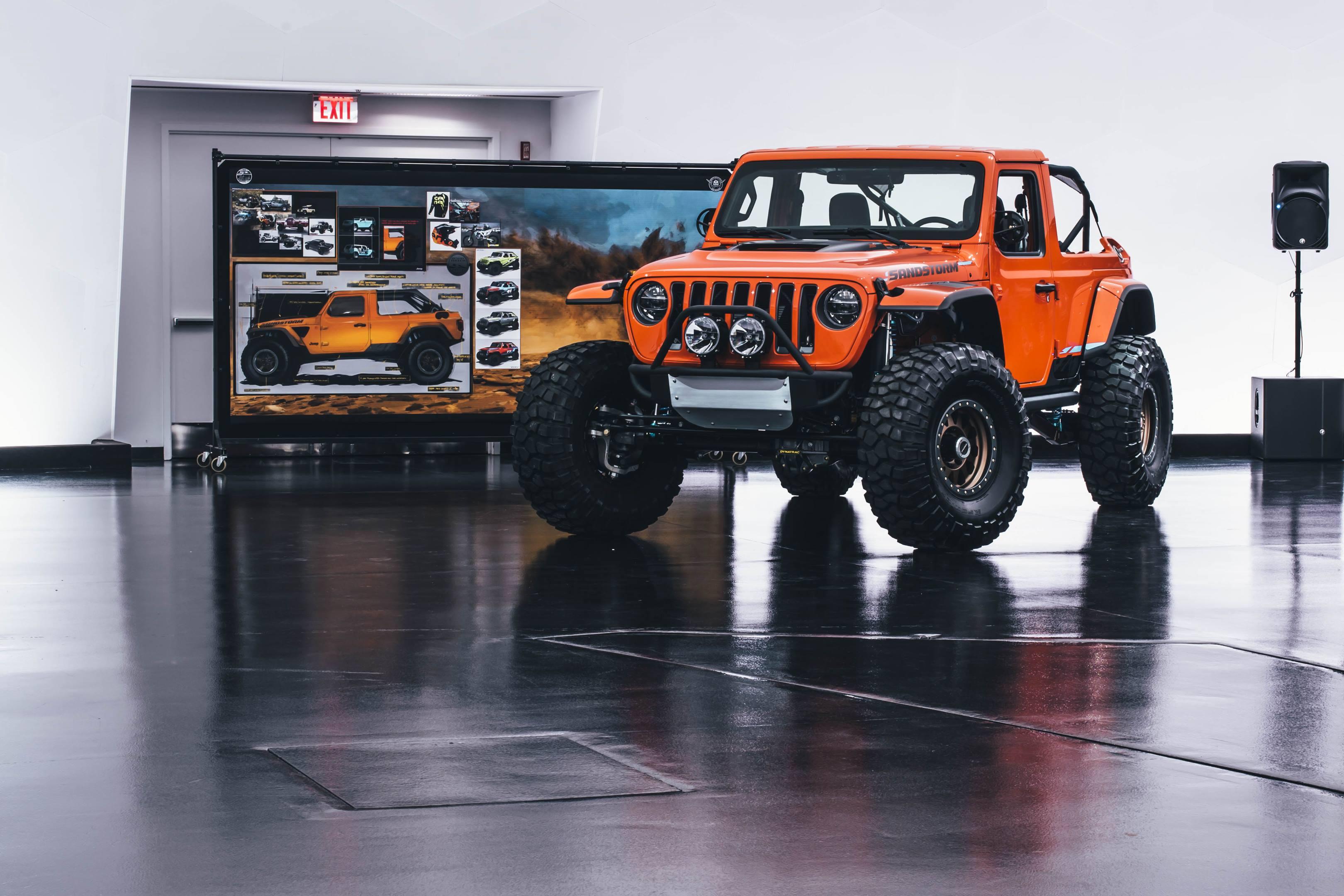 2018 Jeep Nacho Concept