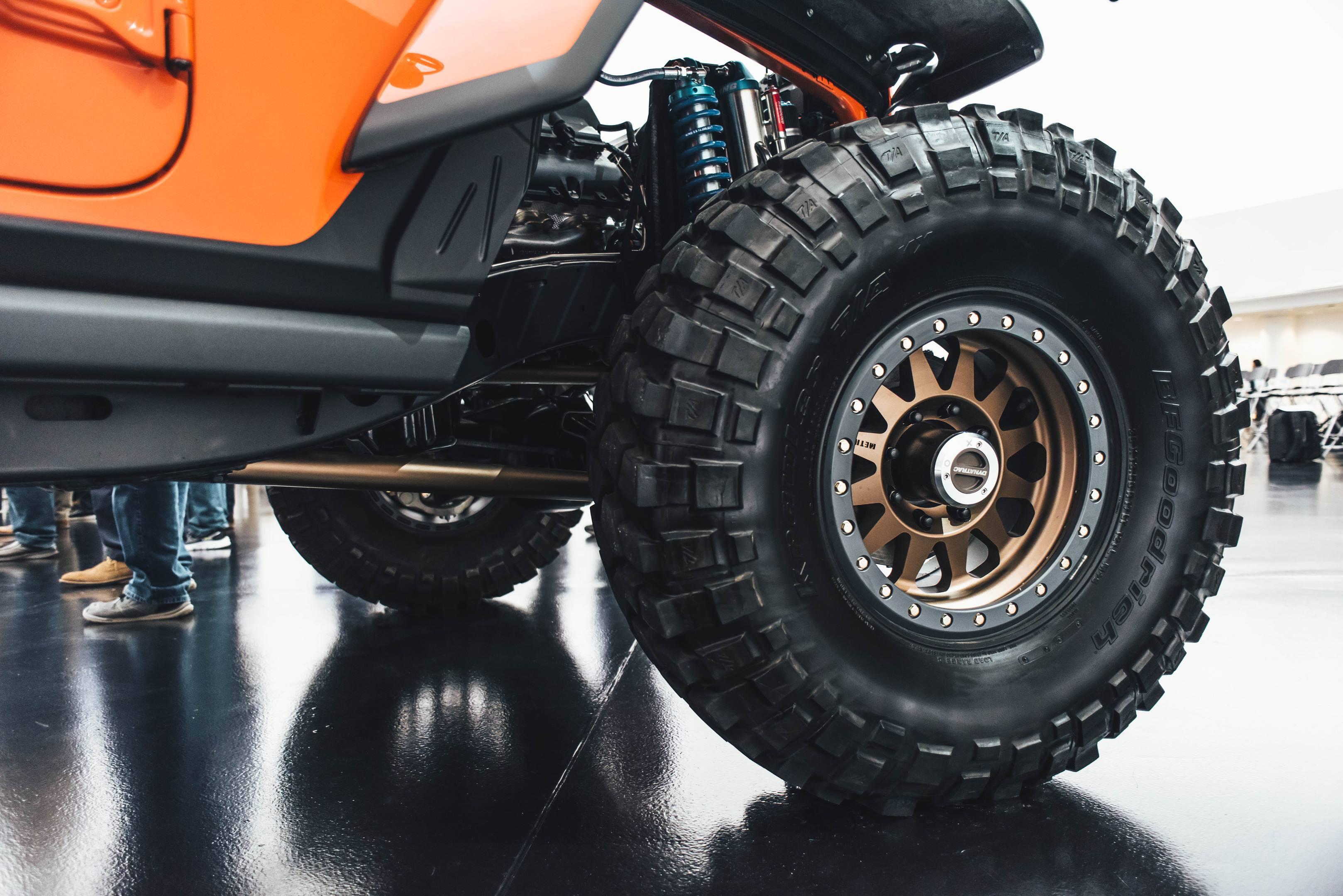 2018 Jeep Sandstorm Concept wheel
