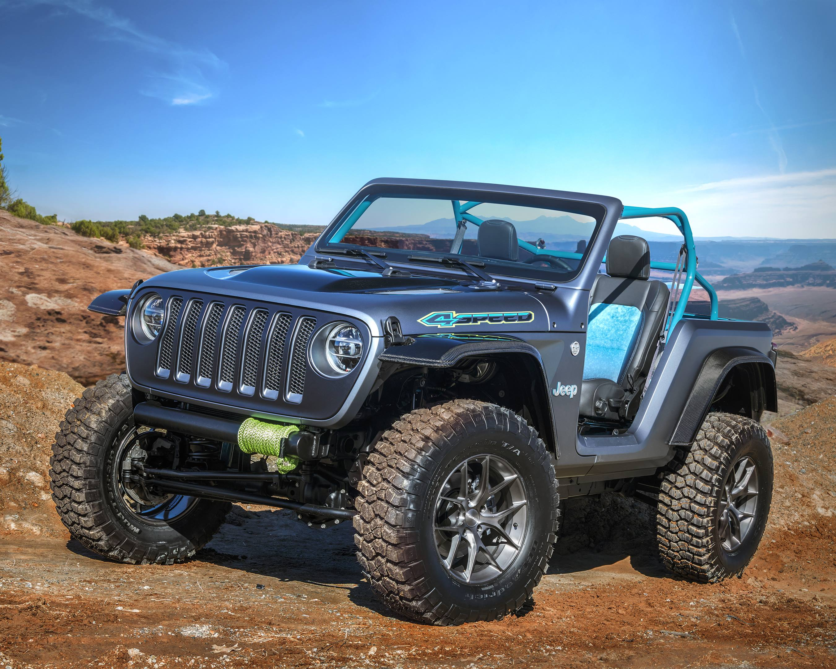 2018 Jeep 4Speed Concept off-road