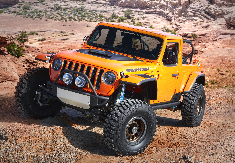 2018 Jeep Sandstorm Concept off-road
