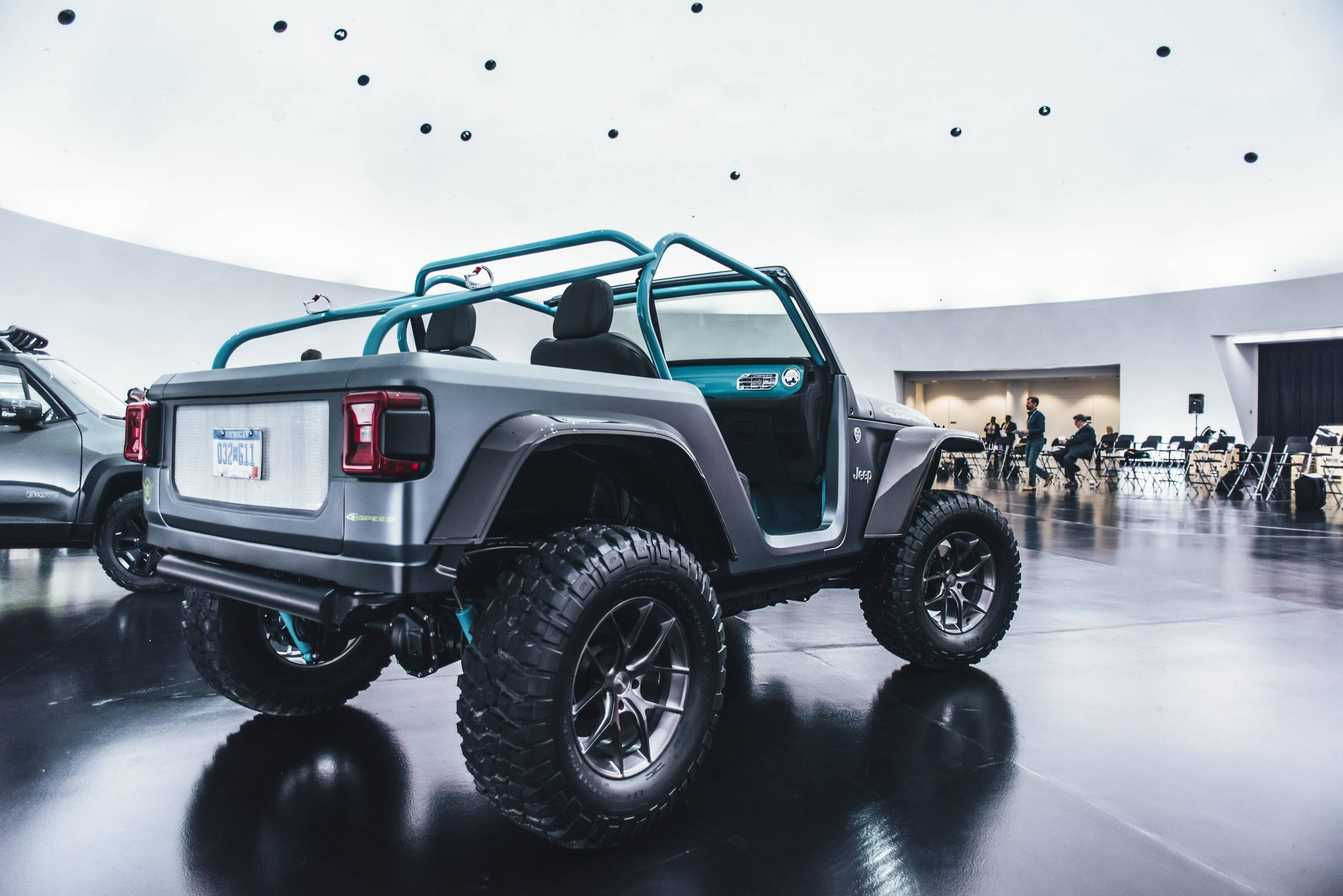 2018 Jeep 4Speed Concept rear 3/4