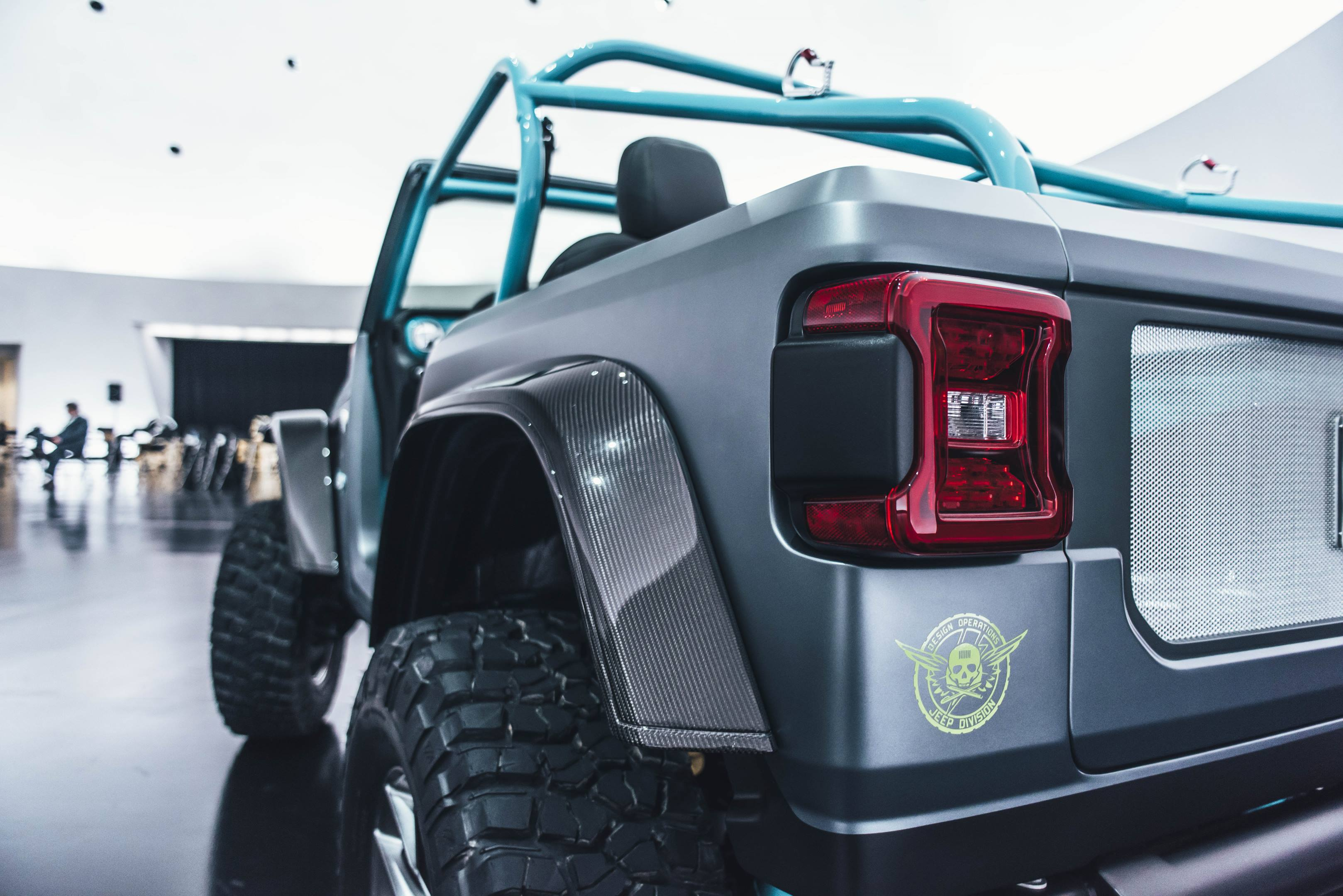 2018 Jeep 4Speed Concept taillight