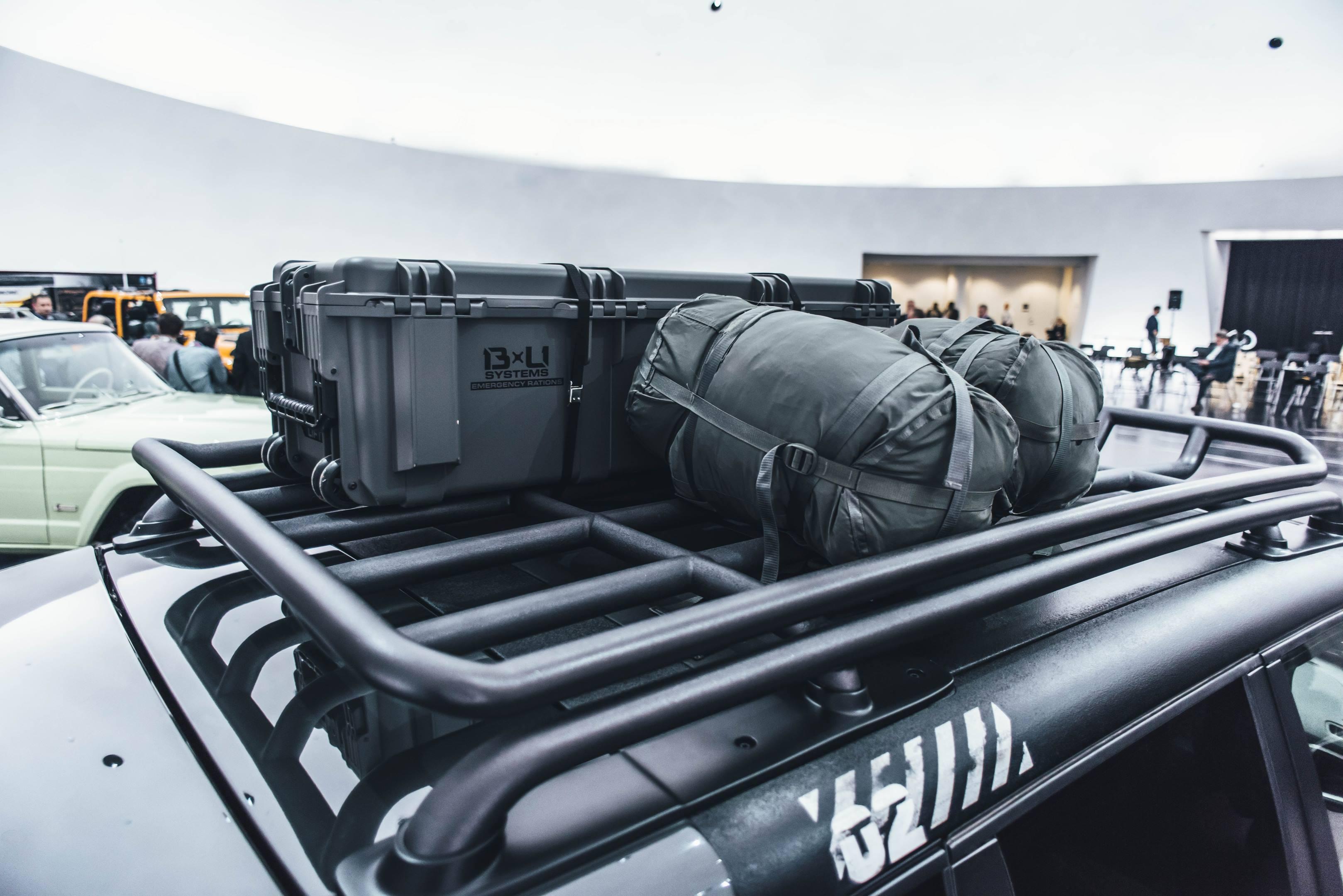 2018 Jeep B-Ute Concept top rack