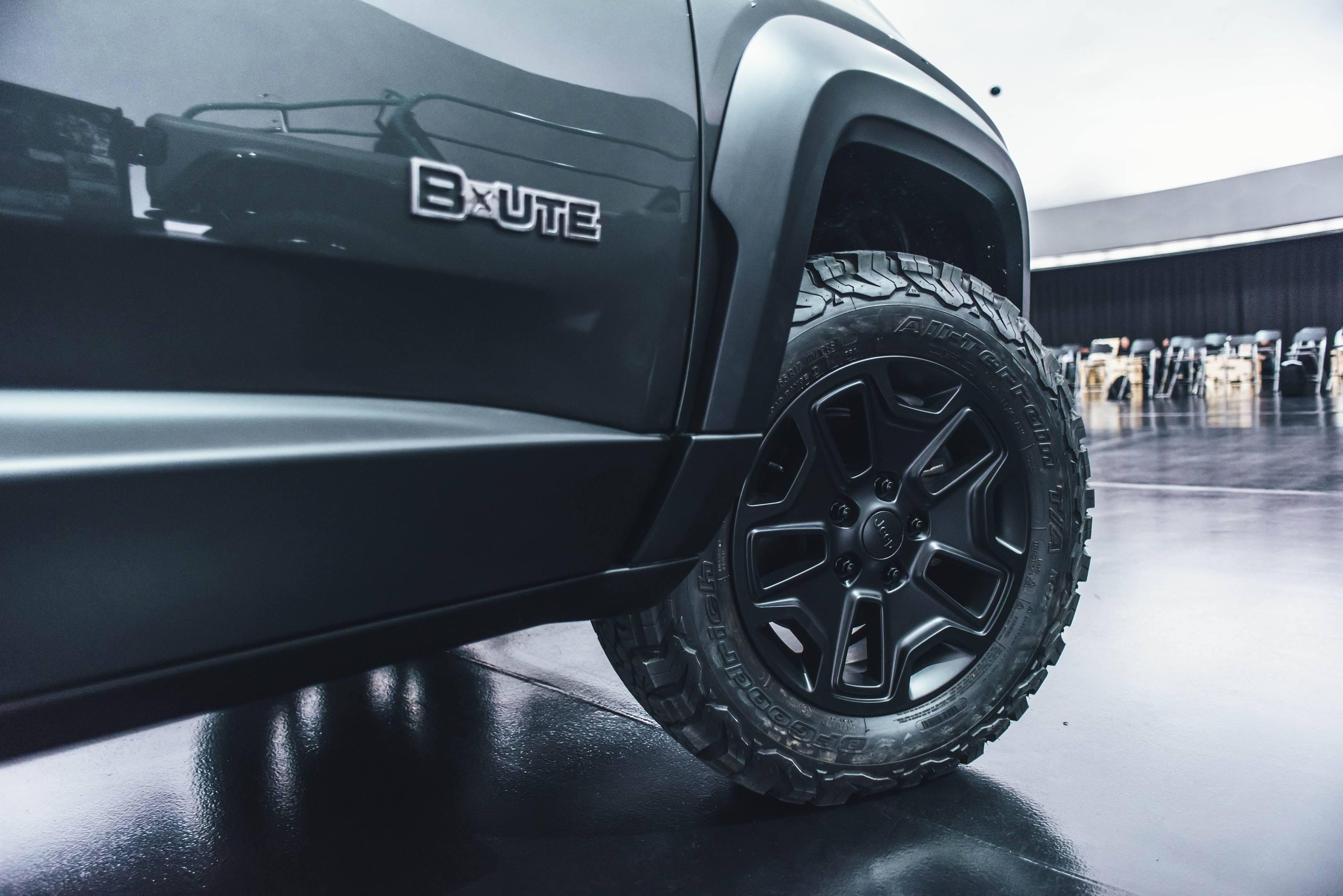 2018 Jeep B-Ute Concept wheel detail