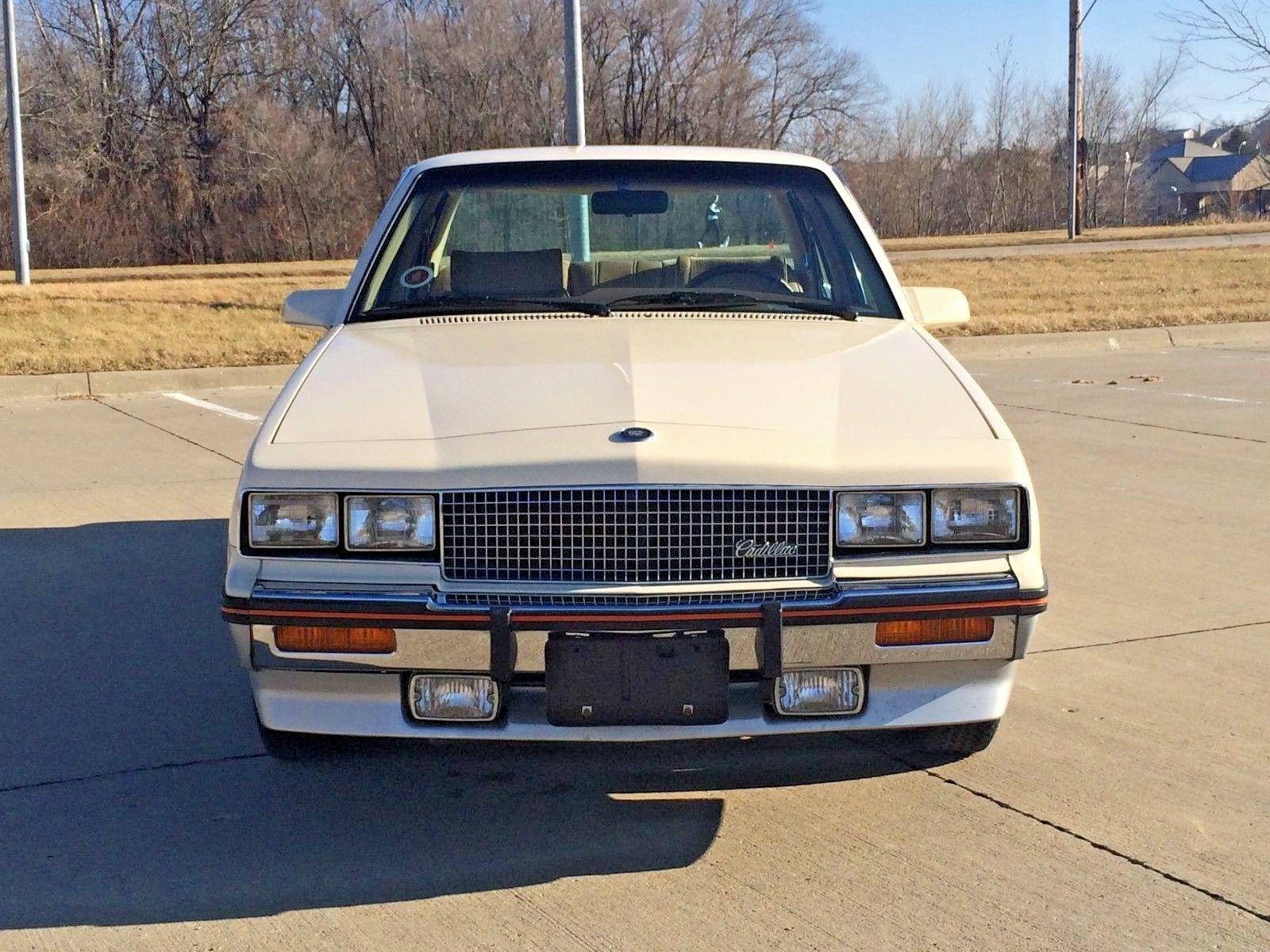 1985 Cadillac Cimarron front