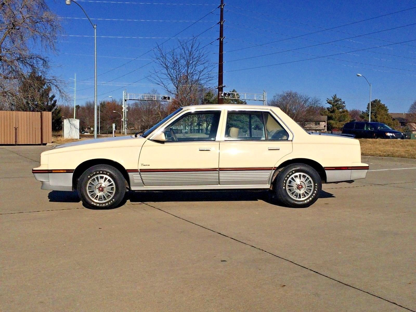 1985 Cadillac Cimarron profile