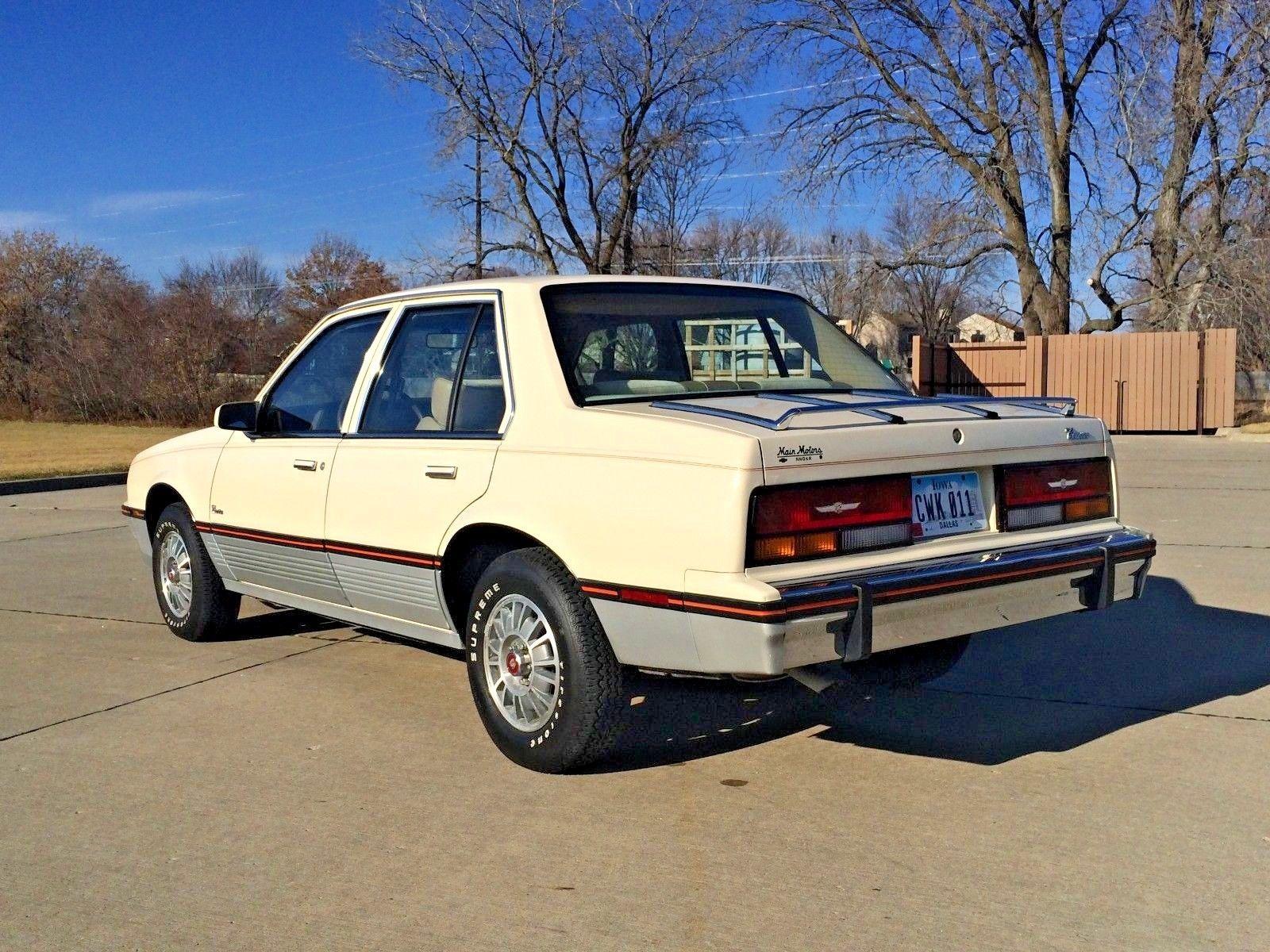 1985 Cadillac Cimarron rear 3/4