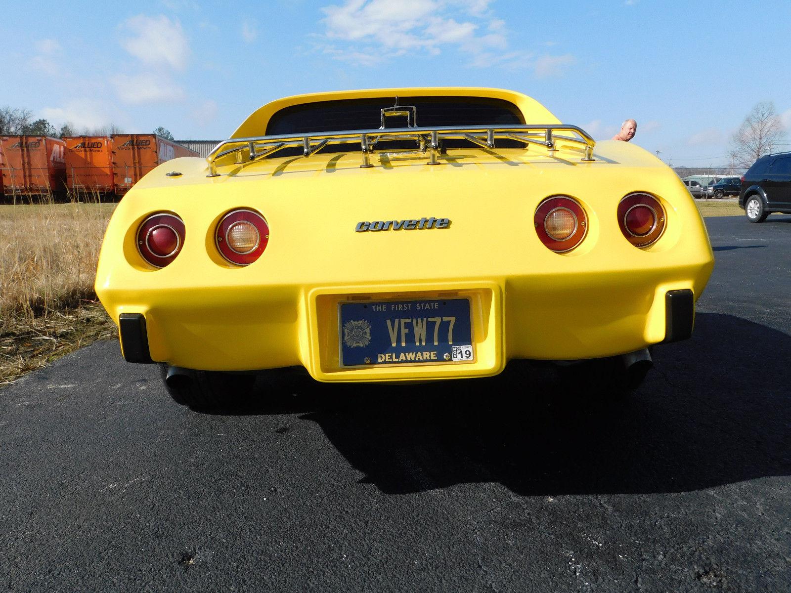 1977 Chevrolet Corvette rear