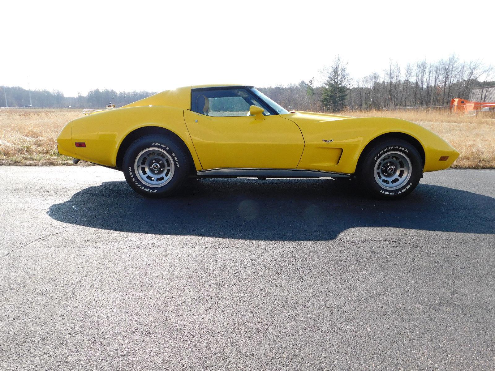 1977 Chevrolet Corvette profile
