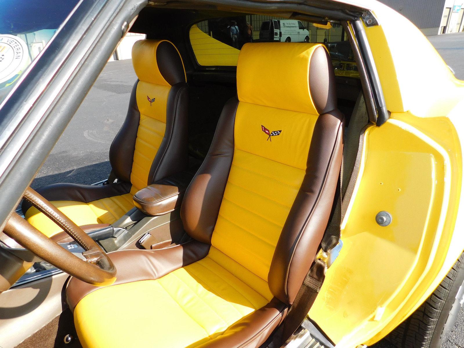 1977 Chevrolet Corvette interior