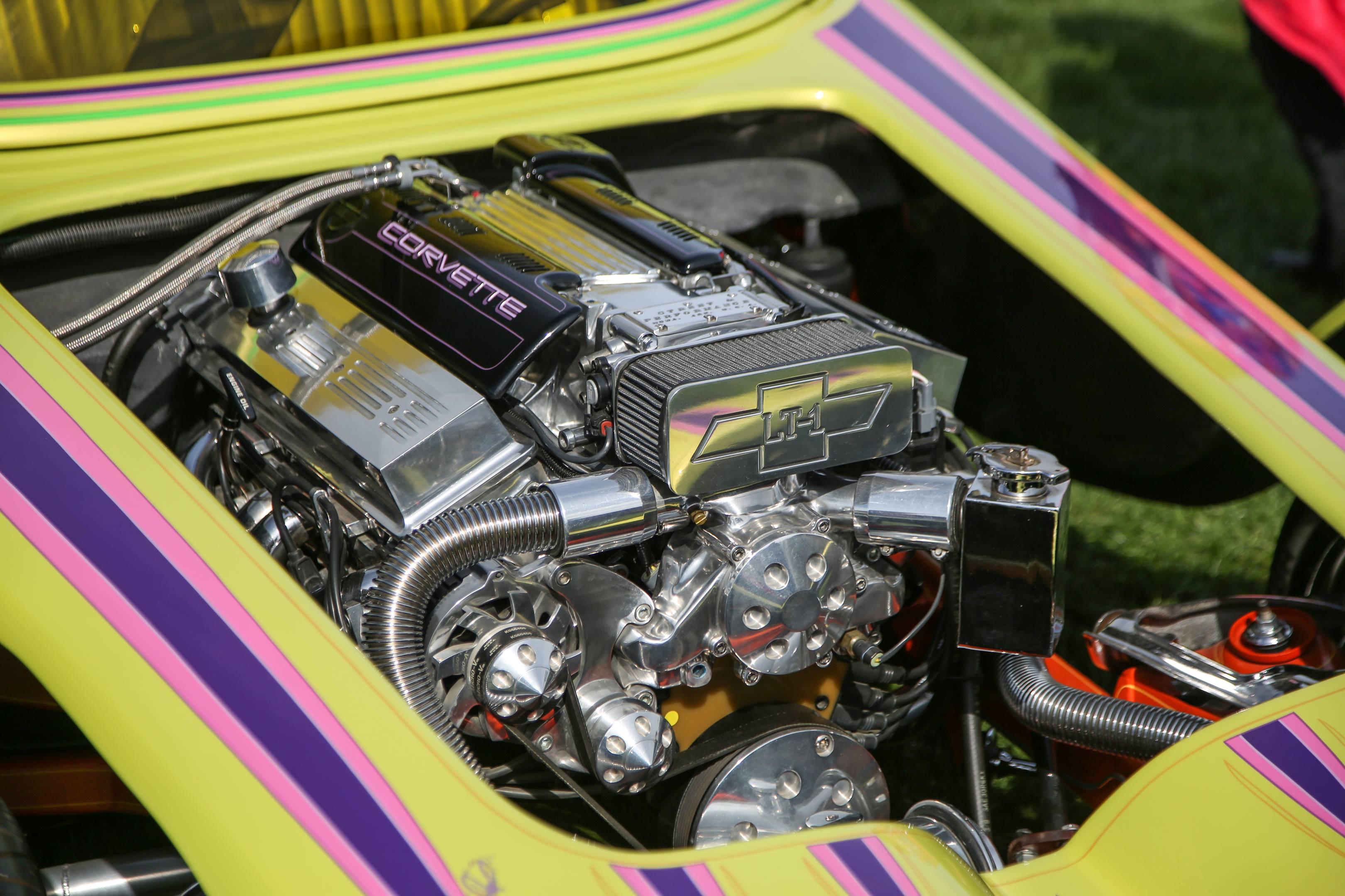 engine in Beatnik Bandit II