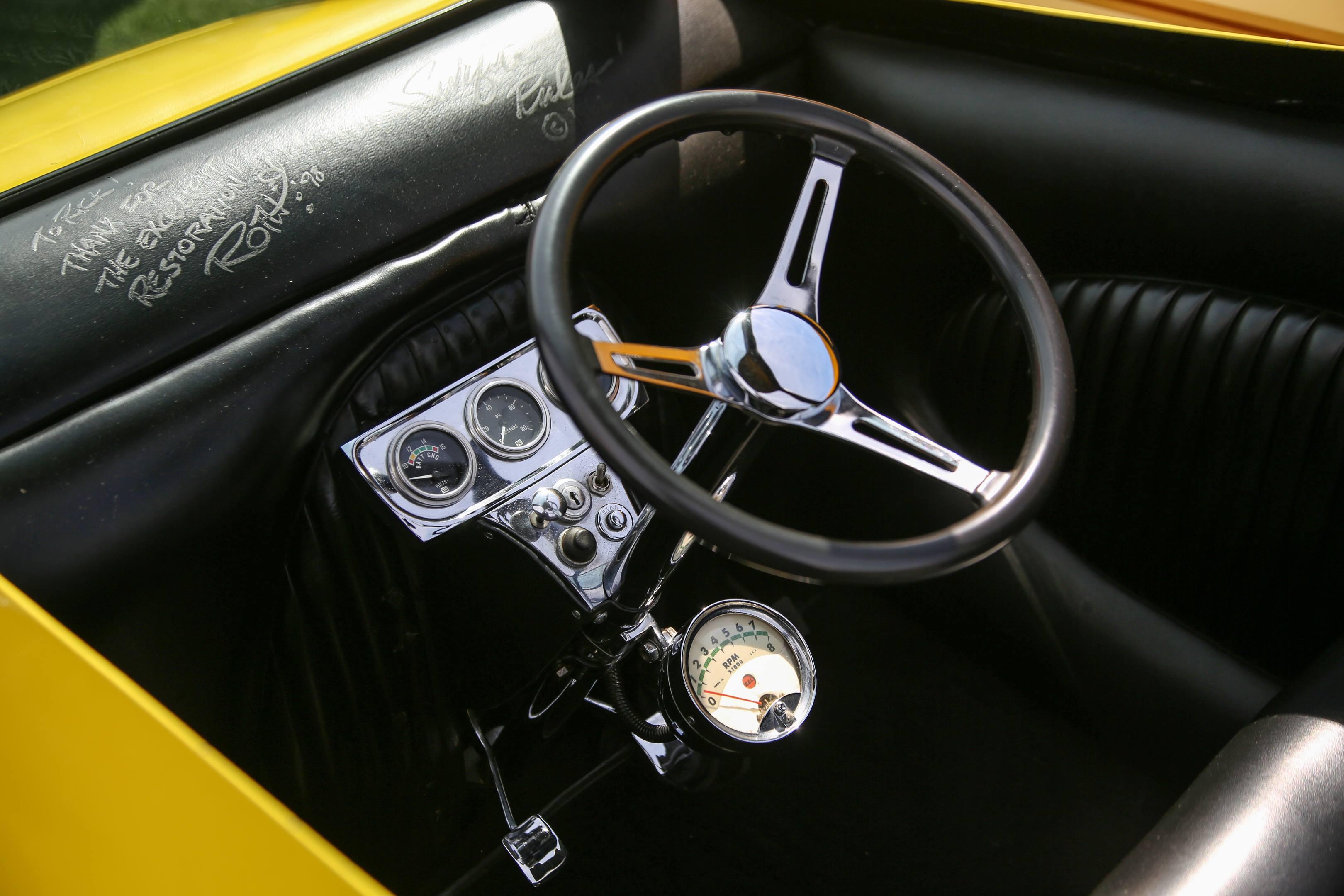 Ed Roth steering wheel