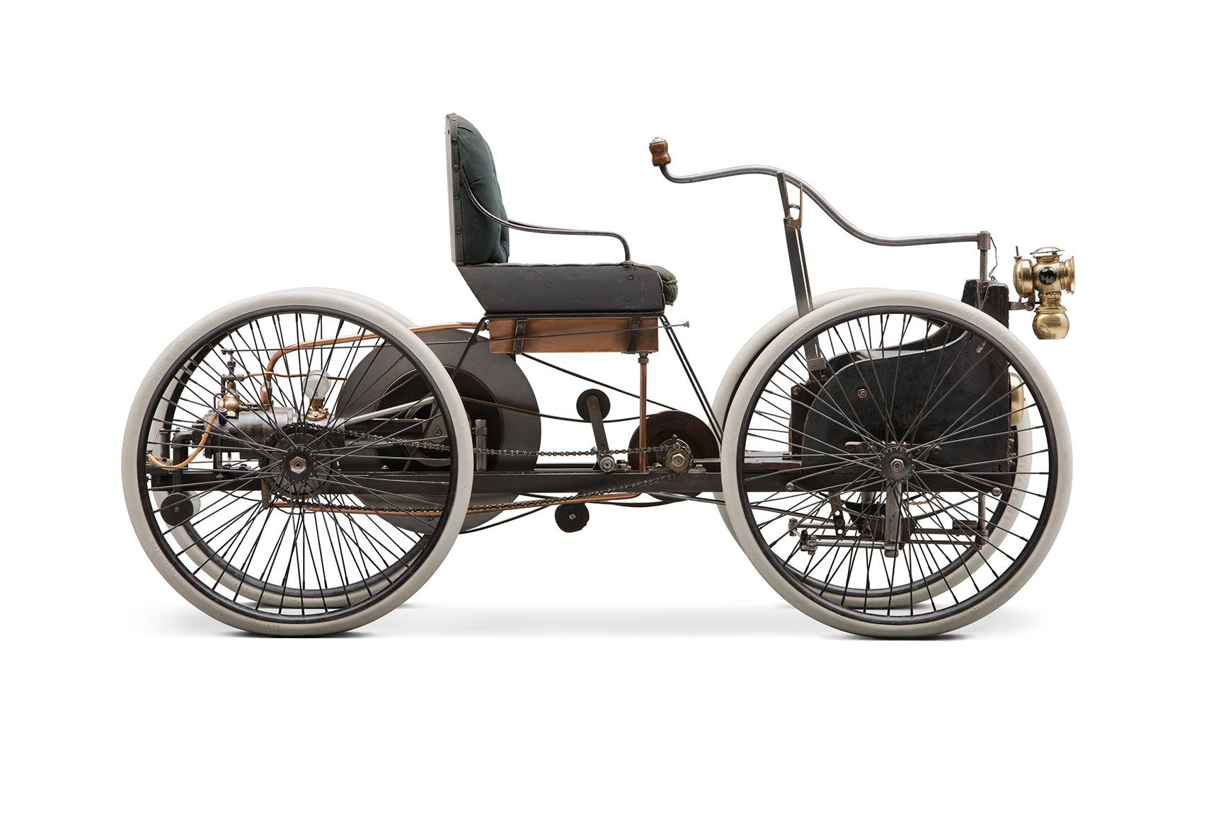 1896 Ford Quadricycle profile