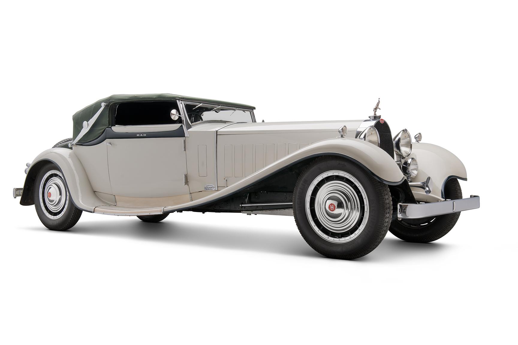 1931 Bugatti Type 41 Royale front 3/4