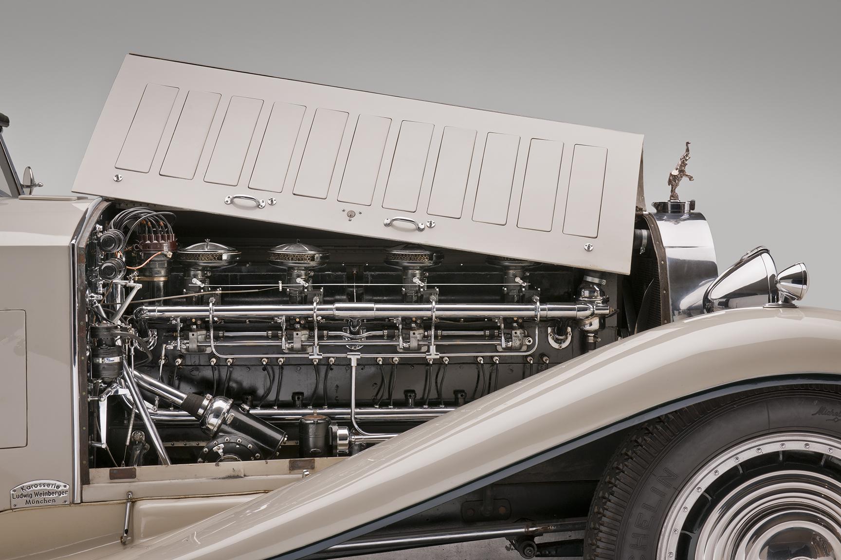 1931 Bugatti Type 41 Royale engine