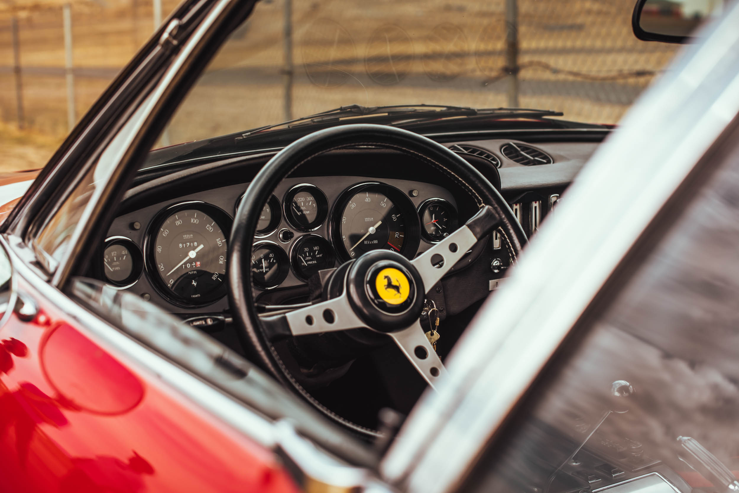 1971 Ferrari Daytona 365 GTB/4 steering wheel