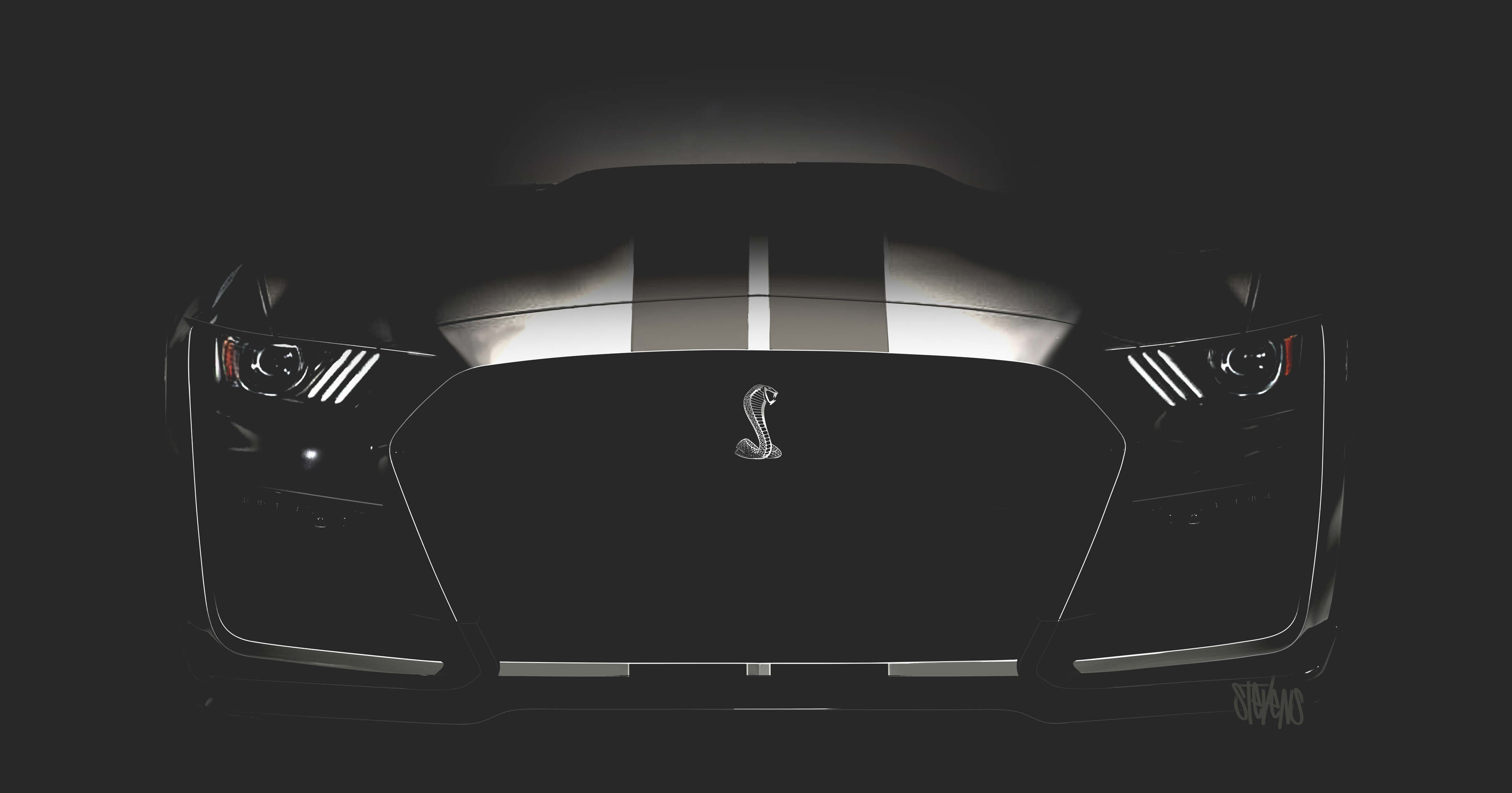 The face of the 2020 Ford Mustang Shelby GT500 thumbnail