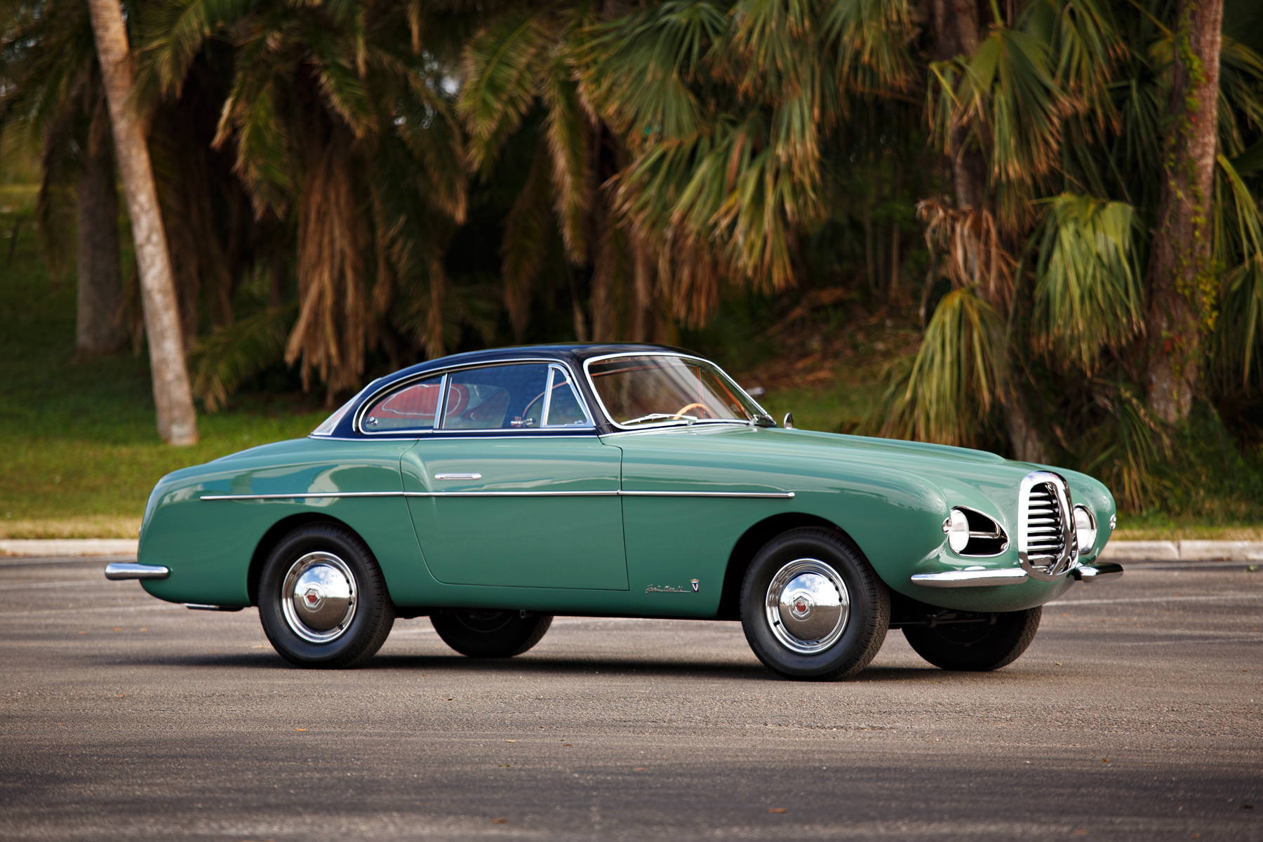 1953 Fiat 1100 Coupe by Vignale