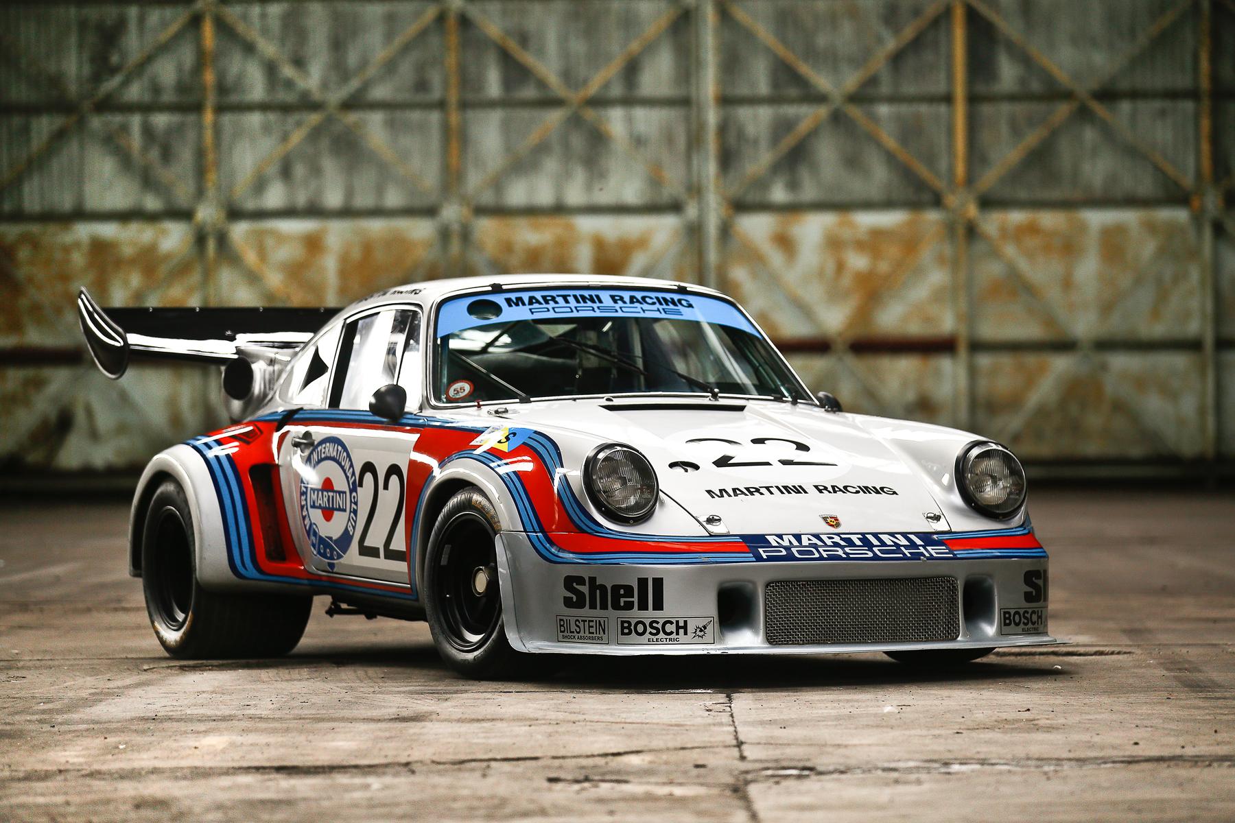 1974 Porsche 911 Carrera RSR 2.1 Turbo race car