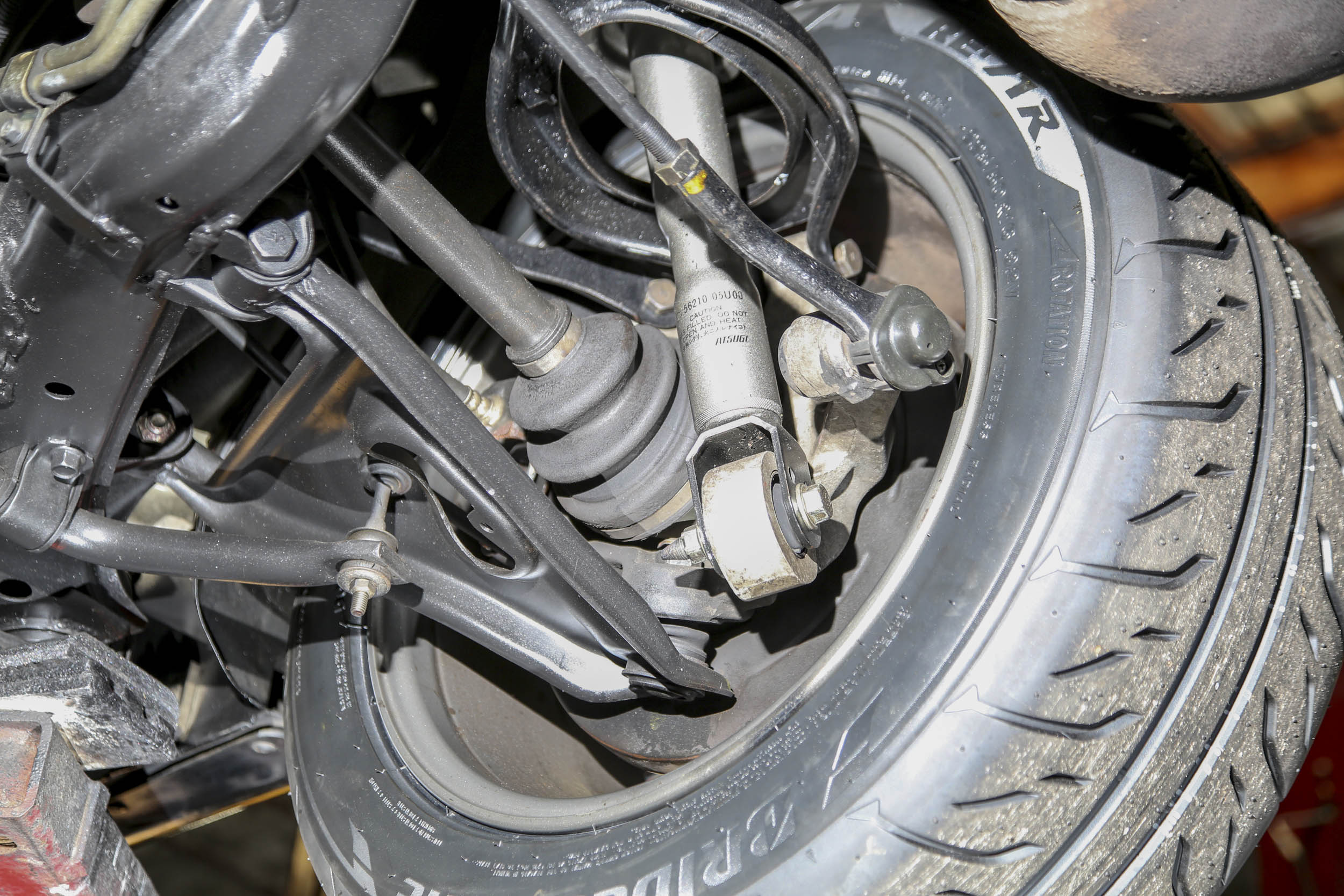 Nissan R32 GT-R rear suspension