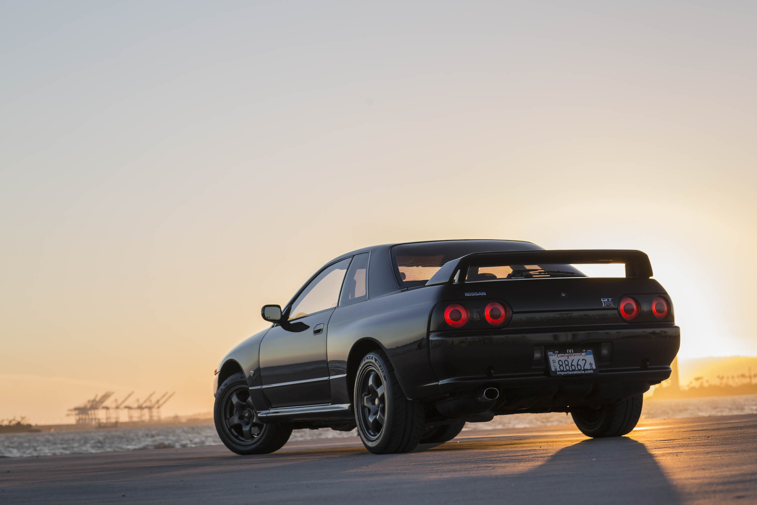 Nissan R32 GT-R rear