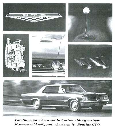 1964 Pontiac LeMans GTO ad