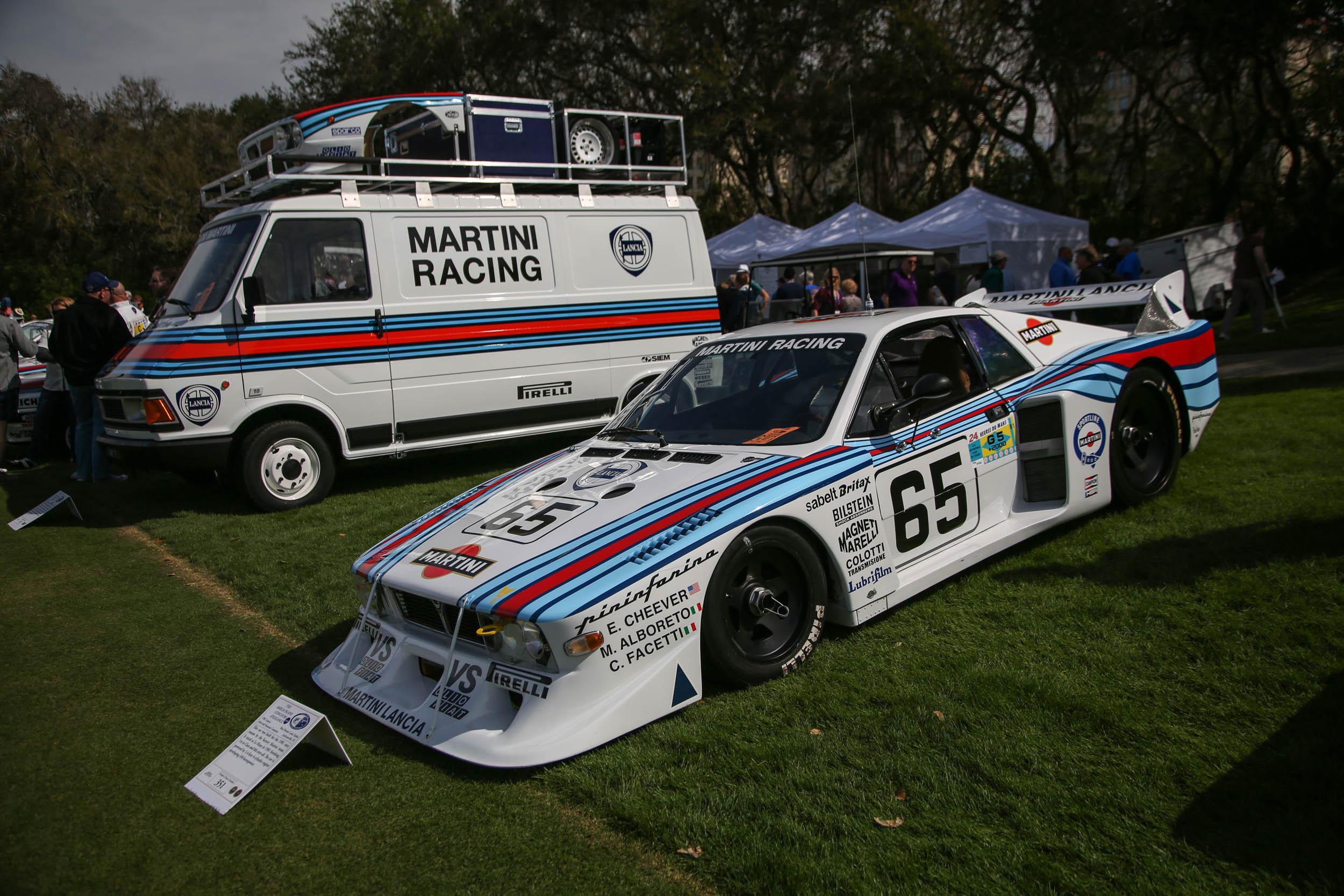 1985 Lancia at the Amelia Island 2018 concours