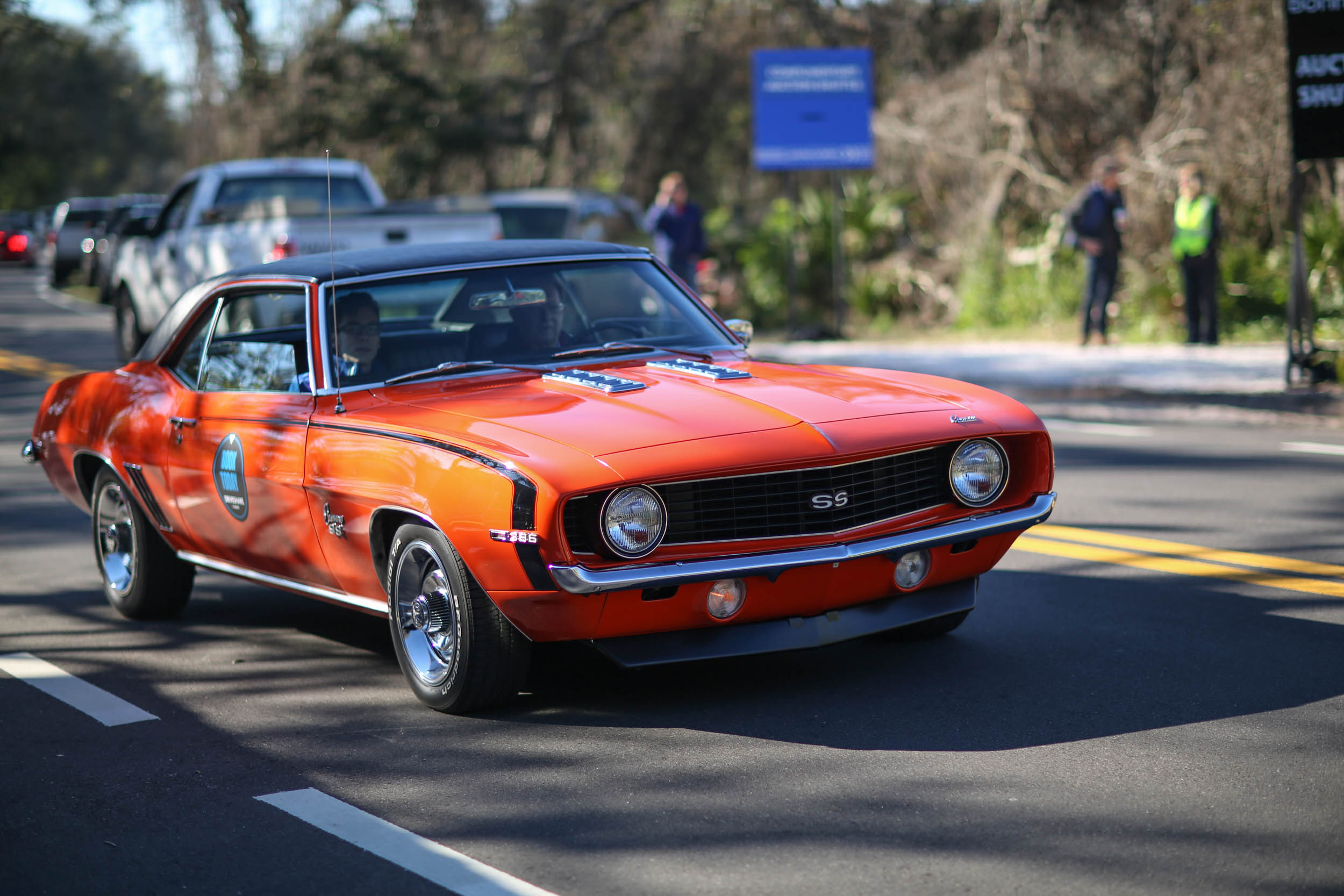 This 1969 Camaro SS 396 was booked solid at Hagerty's Ride & Drive stand.