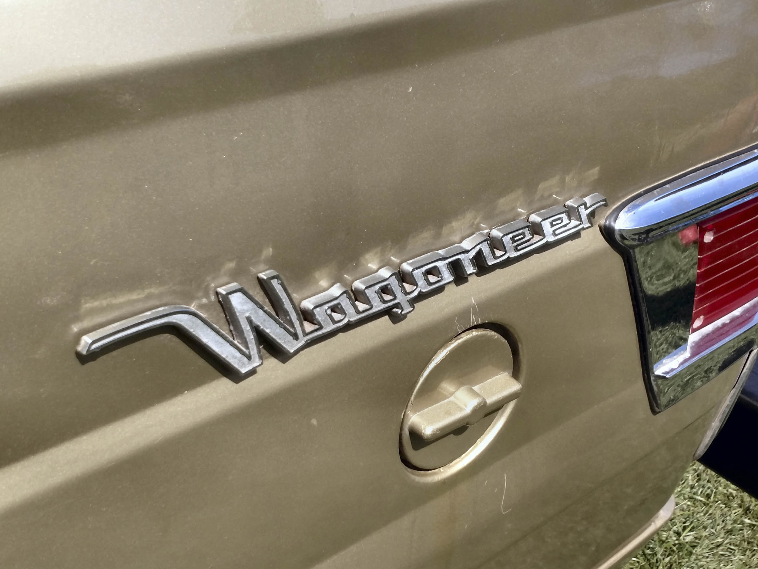1968 Jeep 'Wrangler' badge