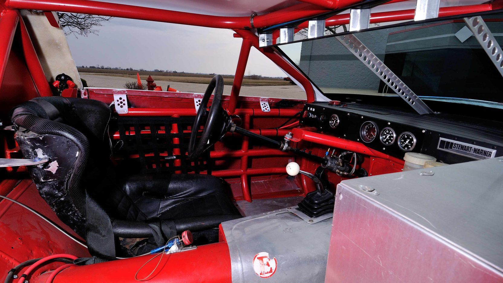 1982 Chevrolet Camaro Le Mans Race Car interior