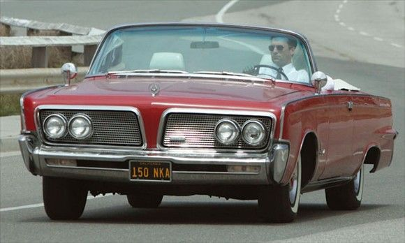 Don Draper's Imperial Crown Convertible front