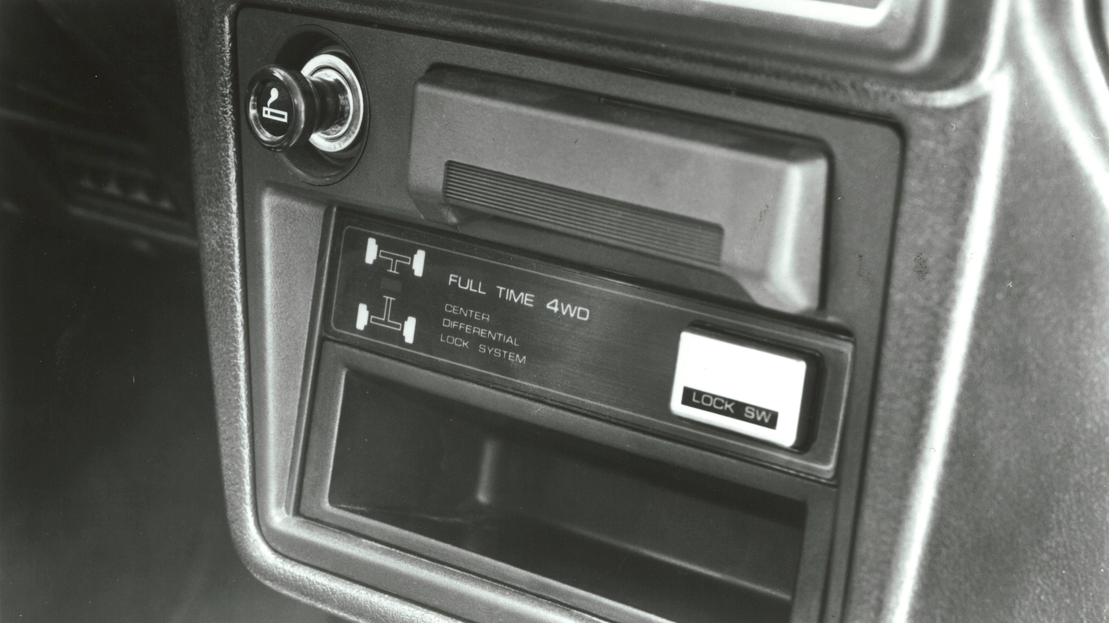 1988 Mazda 323 GTX 4WD Indicator